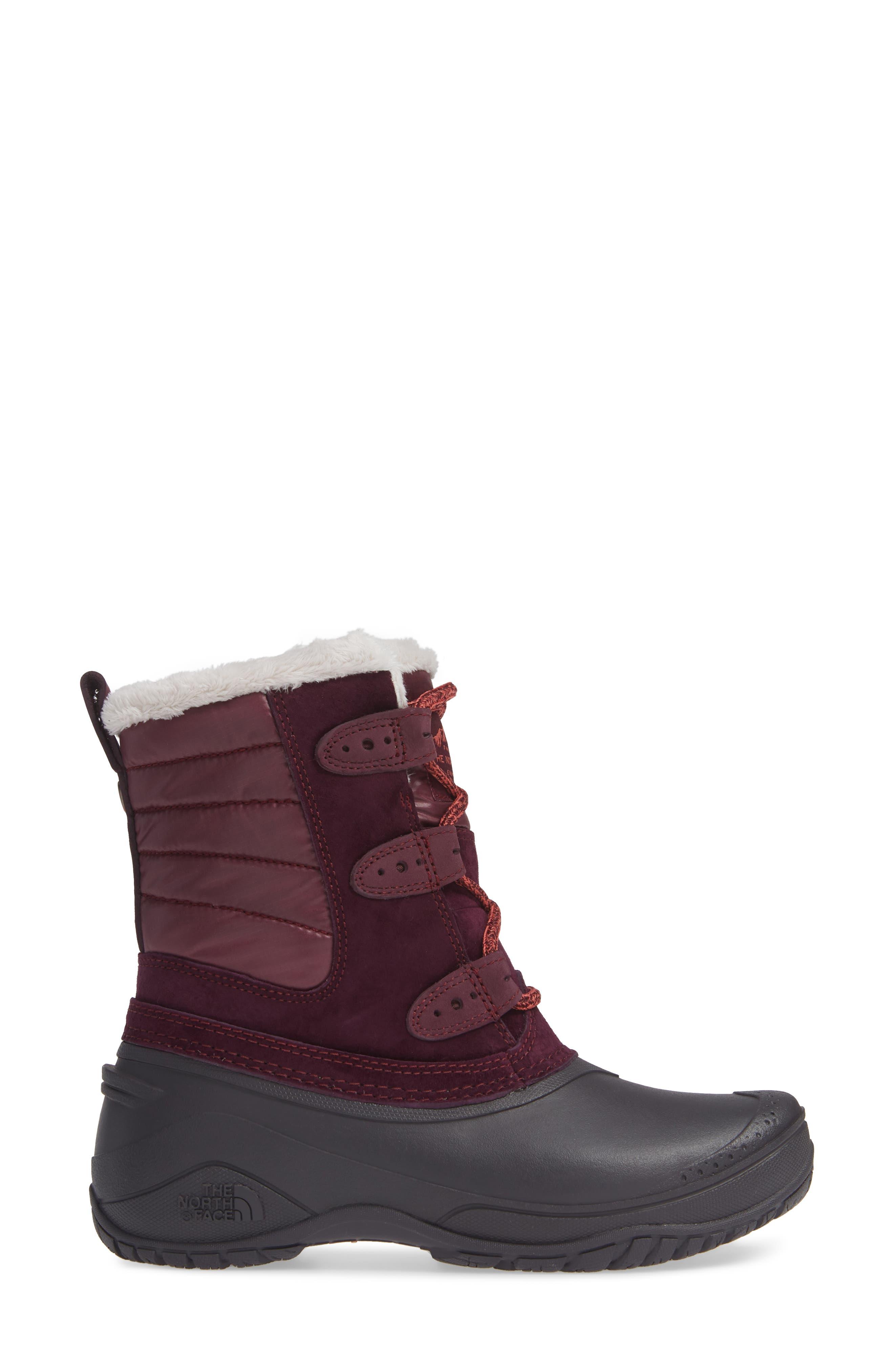 Shellista II Waterproof Boot,                             Alternate thumbnail 3, color,                             930