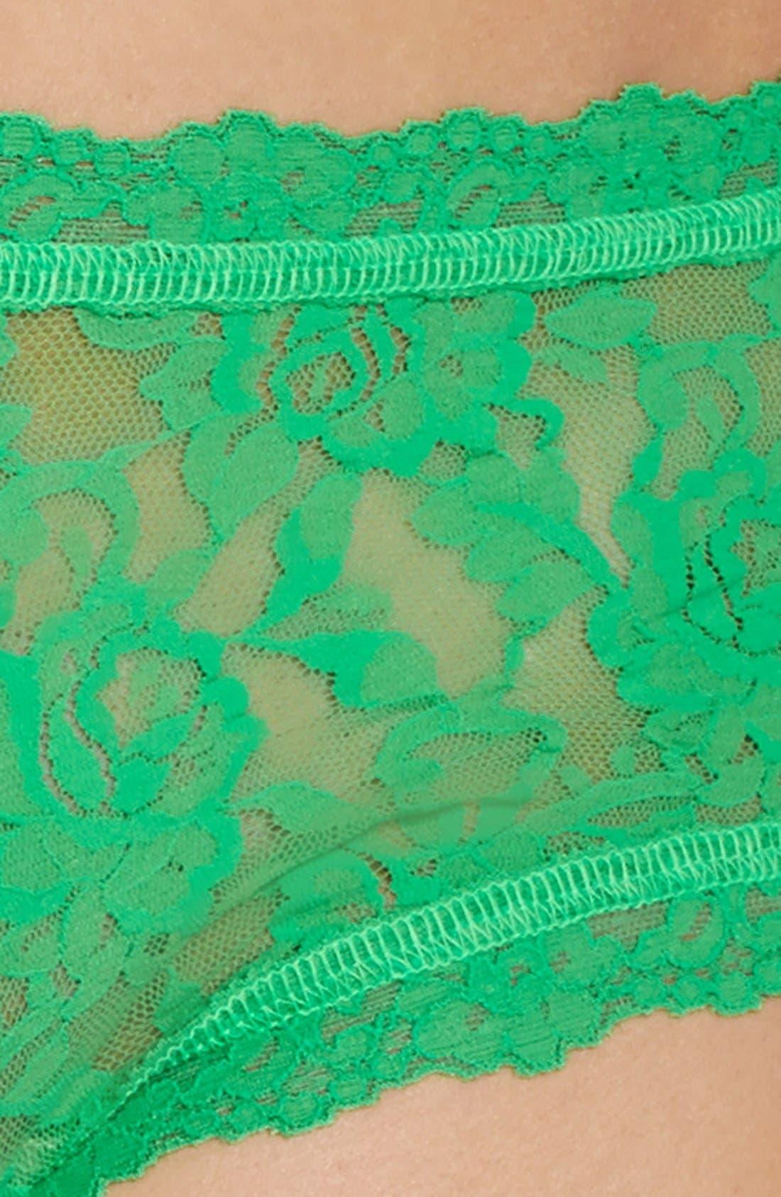 'Signature Lace' Boyshorts,                             Alternate thumbnail 302, color,