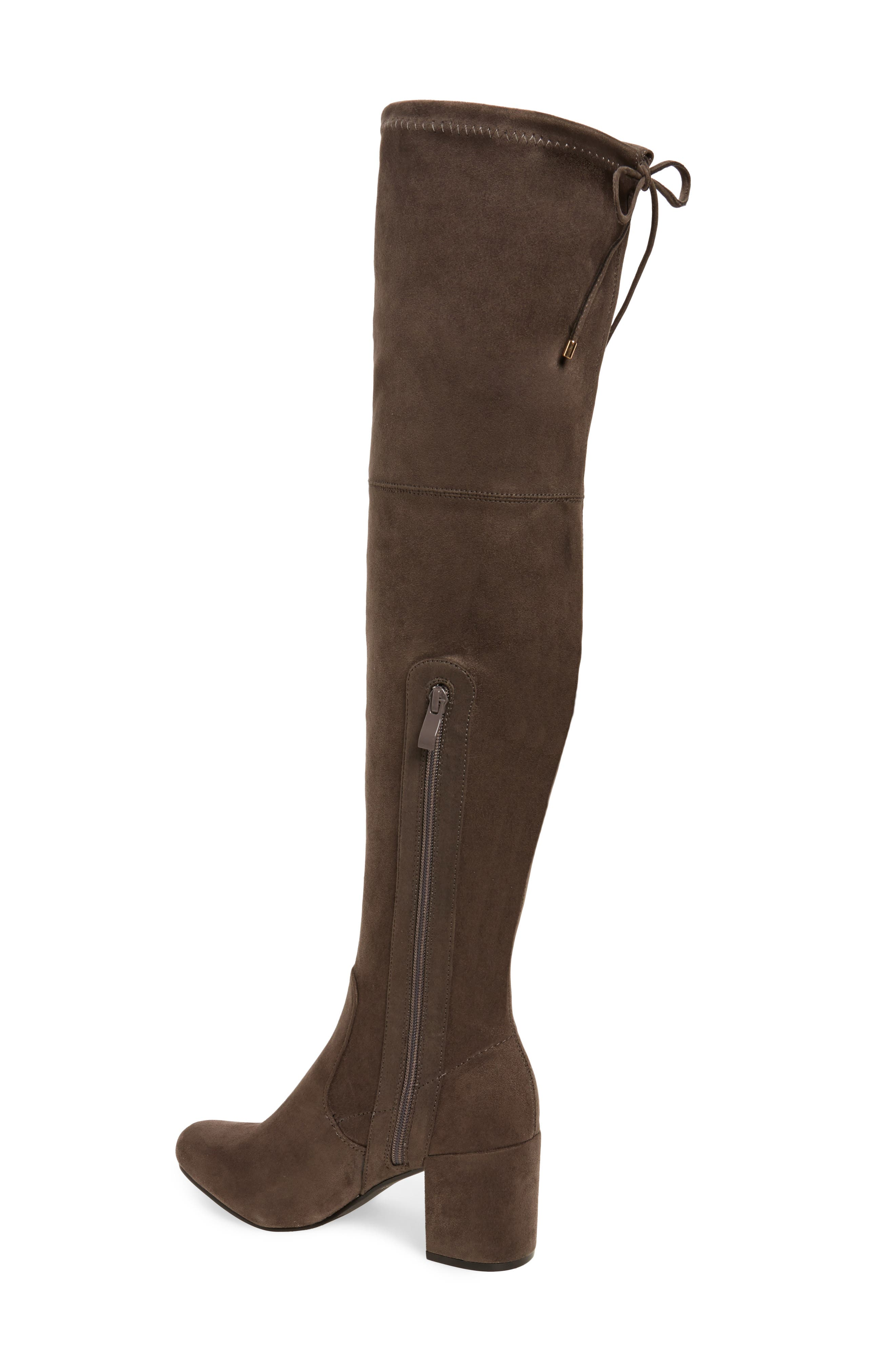 Heartbeat Over the Knee Boot,                             Alternate thumbnail 4, color,
