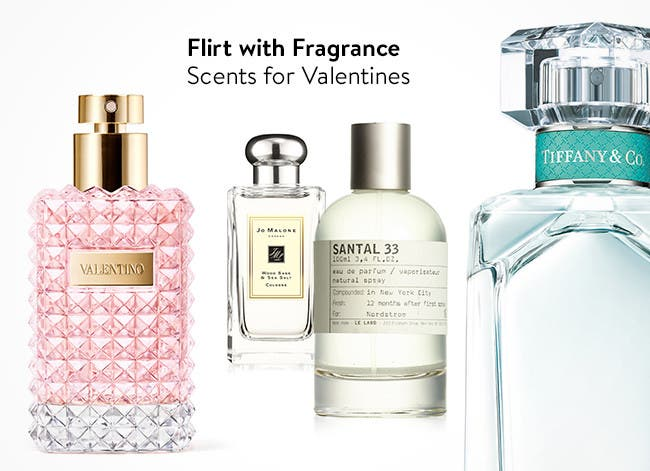 Flirt with Fragrance - Scents for Valentines.