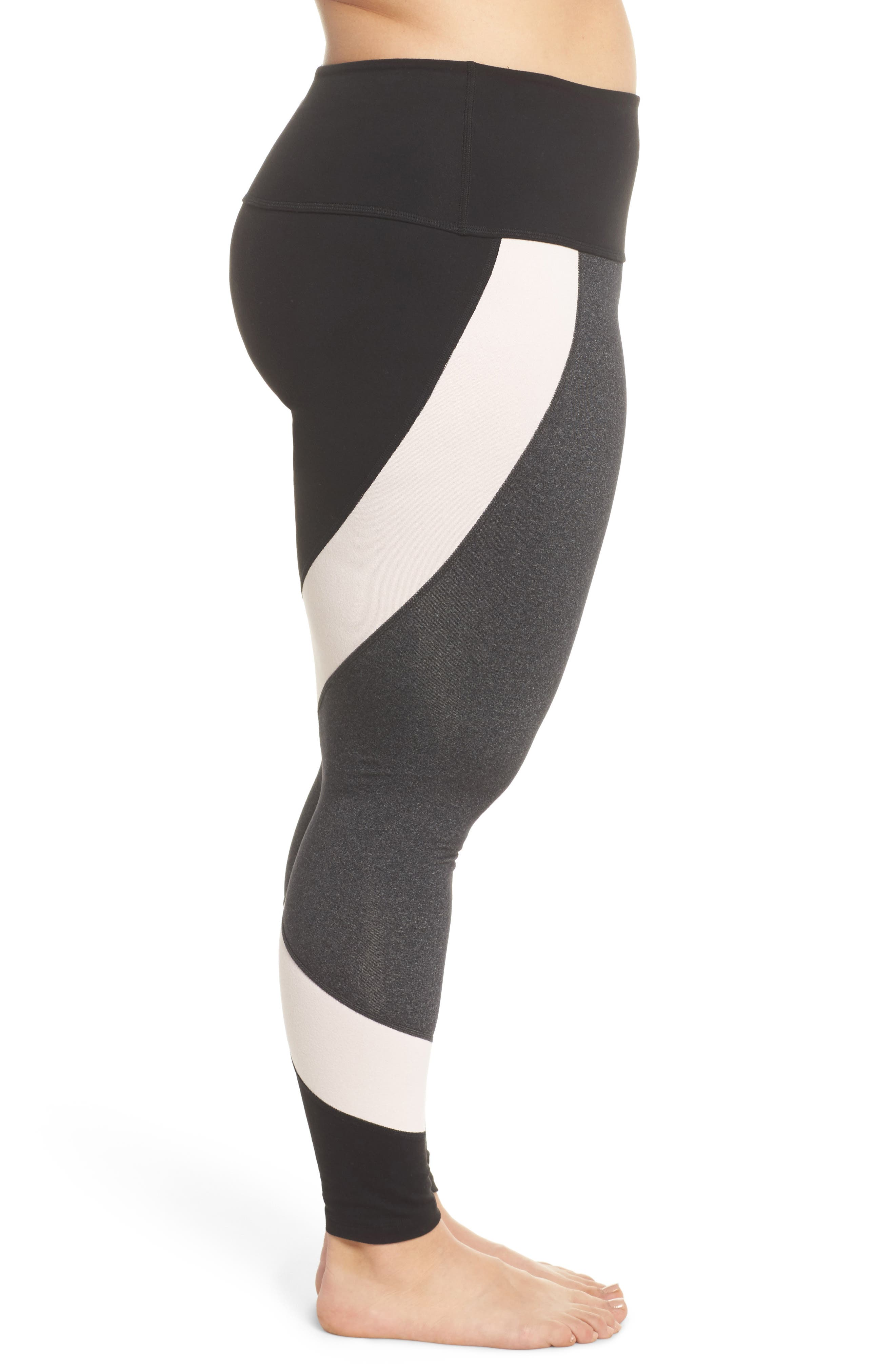 Around the Colorblock Leggings,                             Alternate thumbnail 3, color,                             062