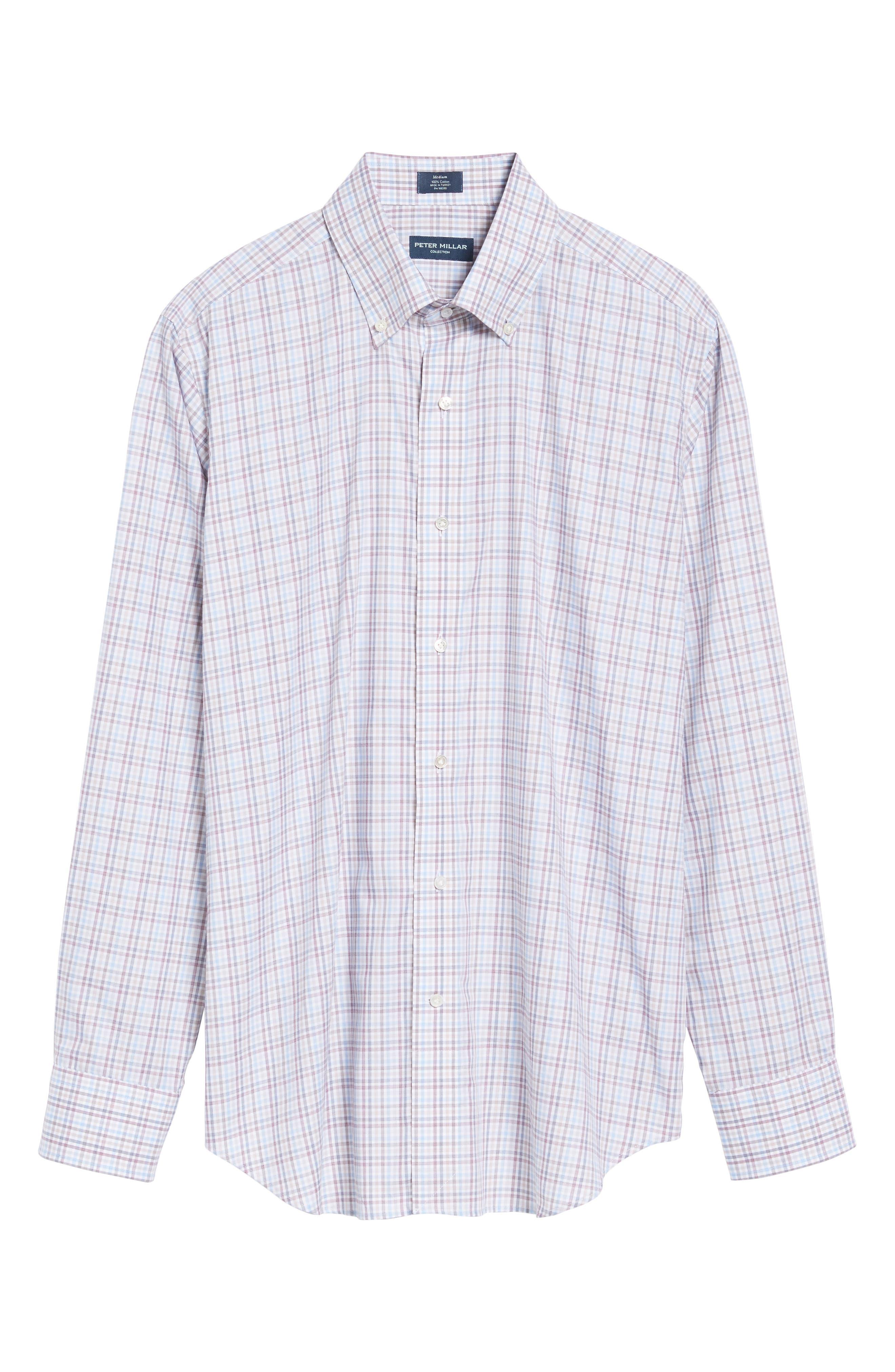 Islay Distilled Check Sport Shirt,                             Alternate thumbnail 6, color,                             669