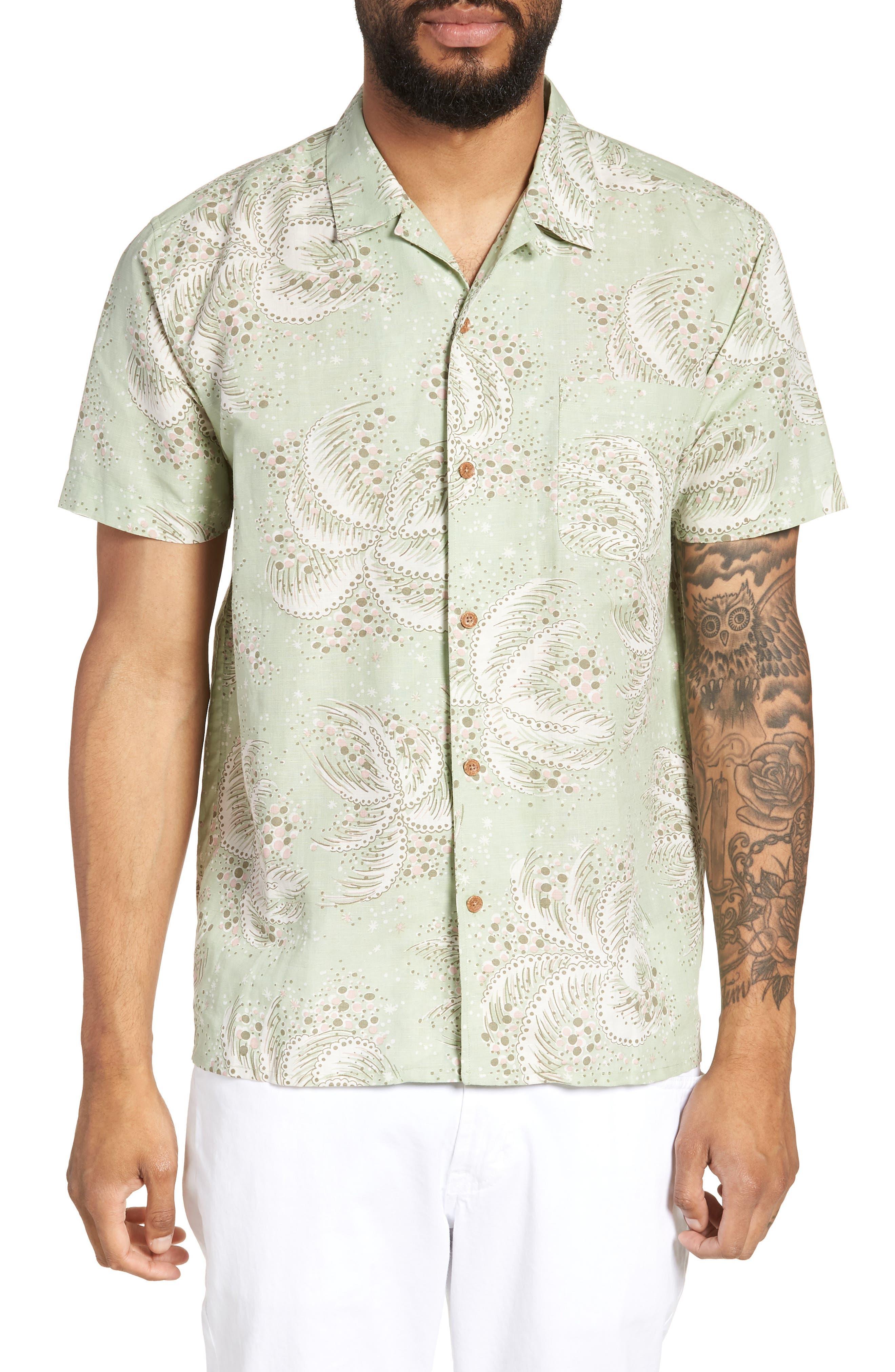 Malick Slim Fit Print Sport Shirt,                         Main,                         color, 300