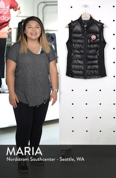 'Hybridge Lite' Slim Fit Packable Down Vest, sales video thumbnail