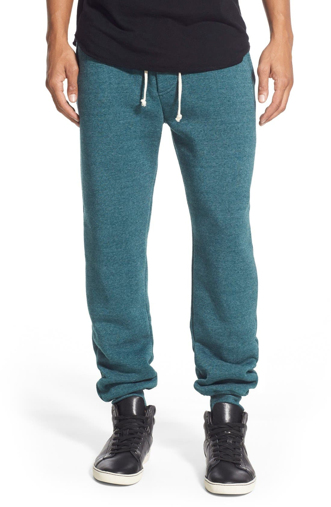 'Dodgeball' Eco Fleece Sweatpants,                             Main thumbnail 5, color,