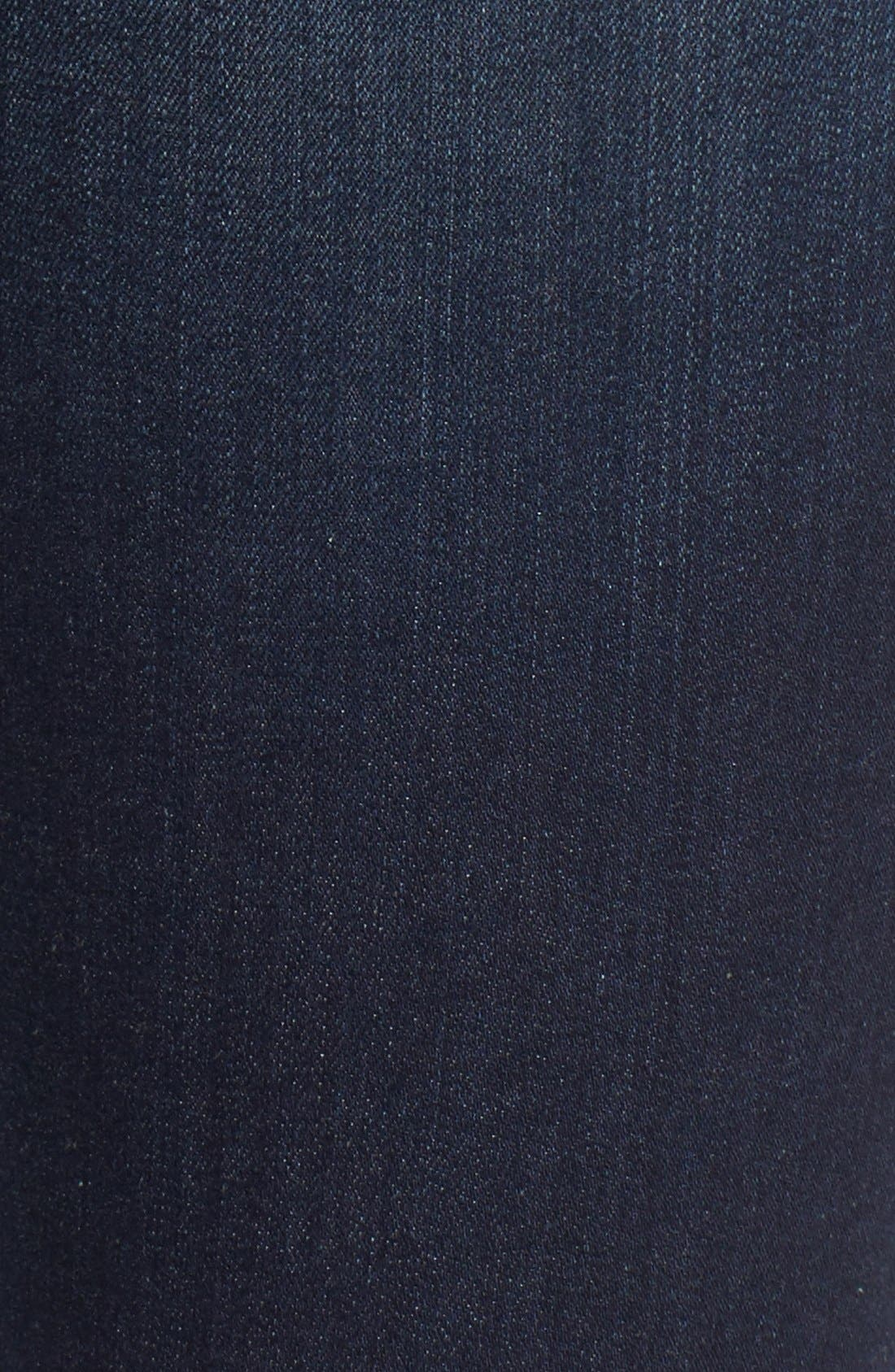 'Natalie' Stretch Bootleg Jeans,                             Alternate thumbnail 4, color,