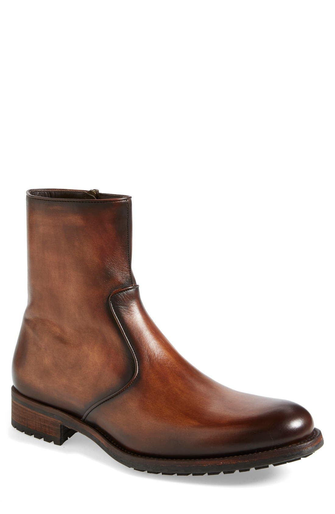 'Lyon' Zip Boot,                         Main,                         color, 210