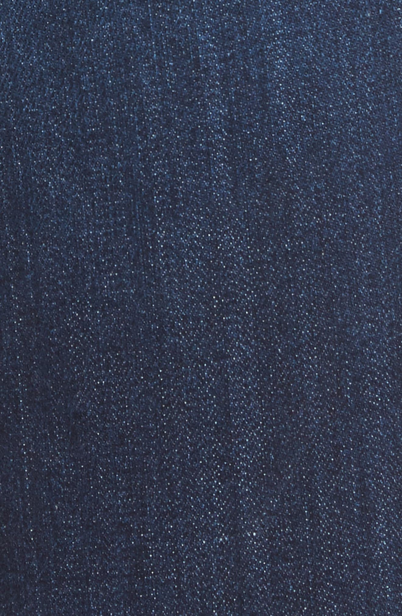 Reese Frayed Ankle Jeans,                             Alternate thumbnail 5, color,                             414