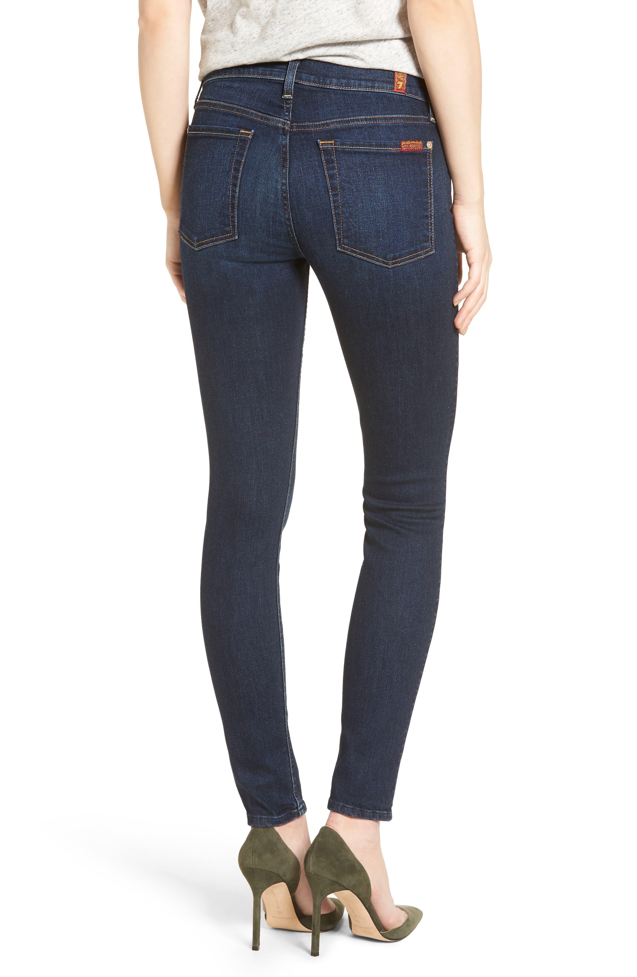 Skinny Jeans,                             Alternate thumbnail 2, color,                             401