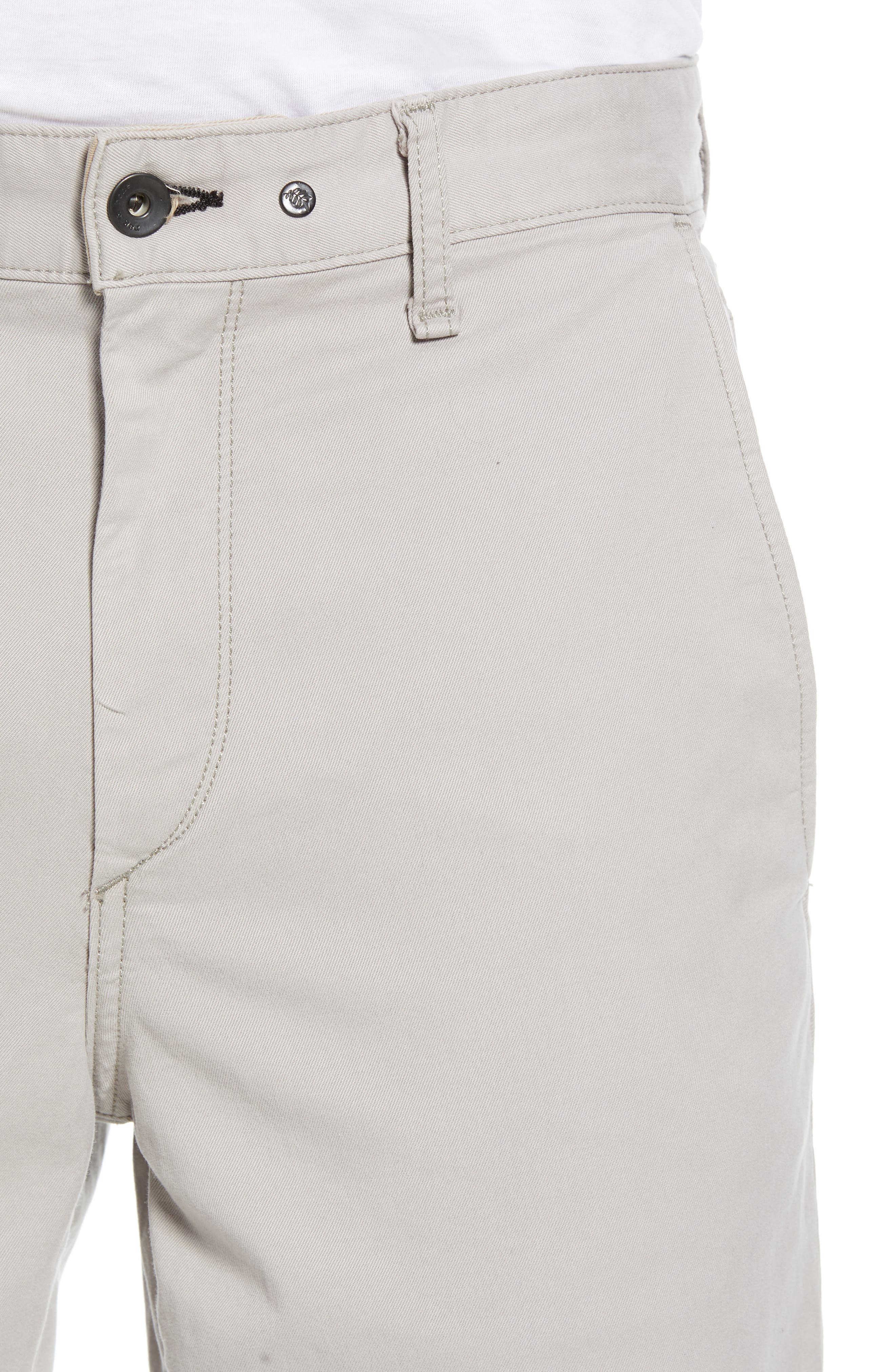 Fit 2 Classic Chinos,                             Alternate thumbnail 4, color,                             LIGHT GREY