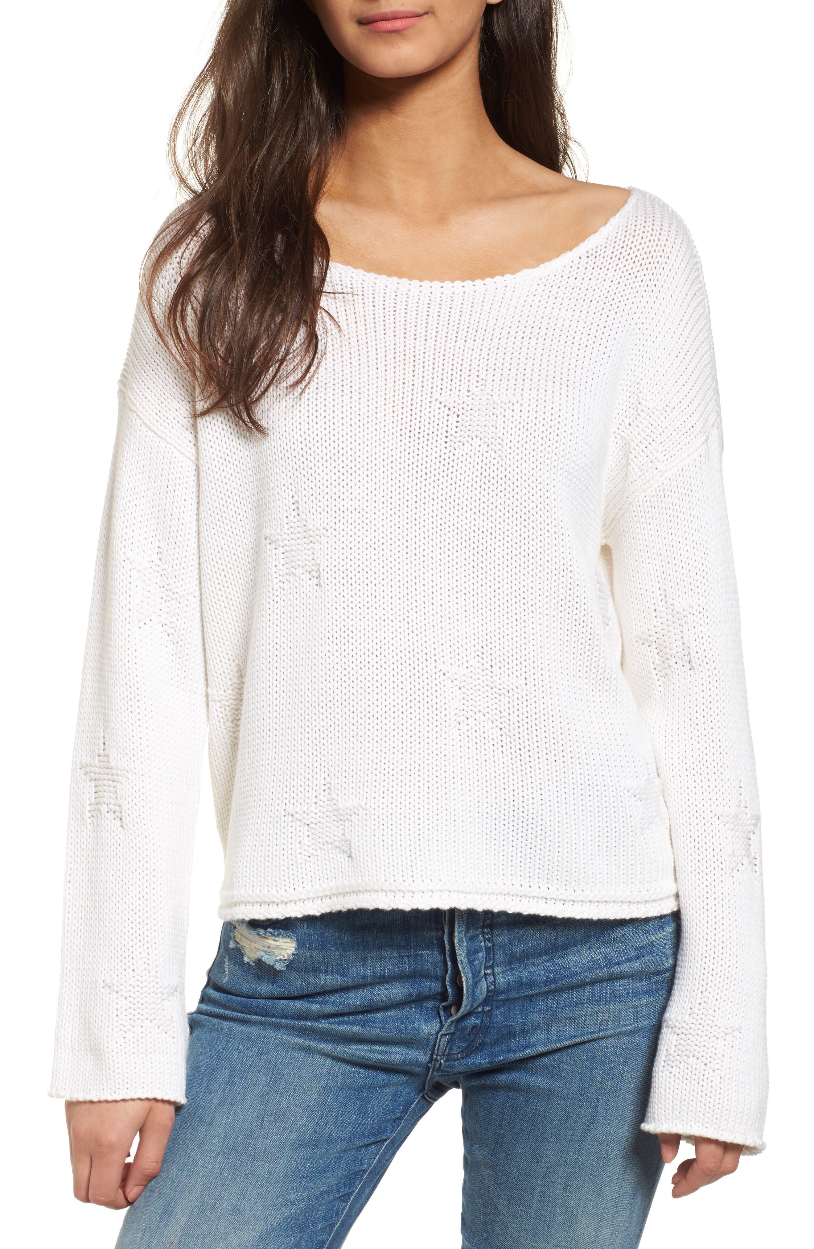 Kalani Star Sweater,                             Main thumbnail 1, color,