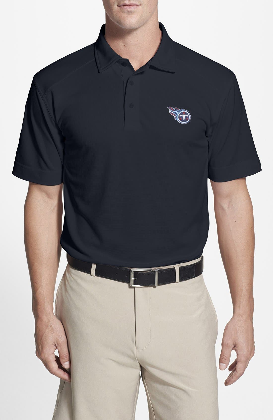 Tennessee Titans - Genre DryTec Moisture Wicking Polo,                             Main thumbnail 2, color,