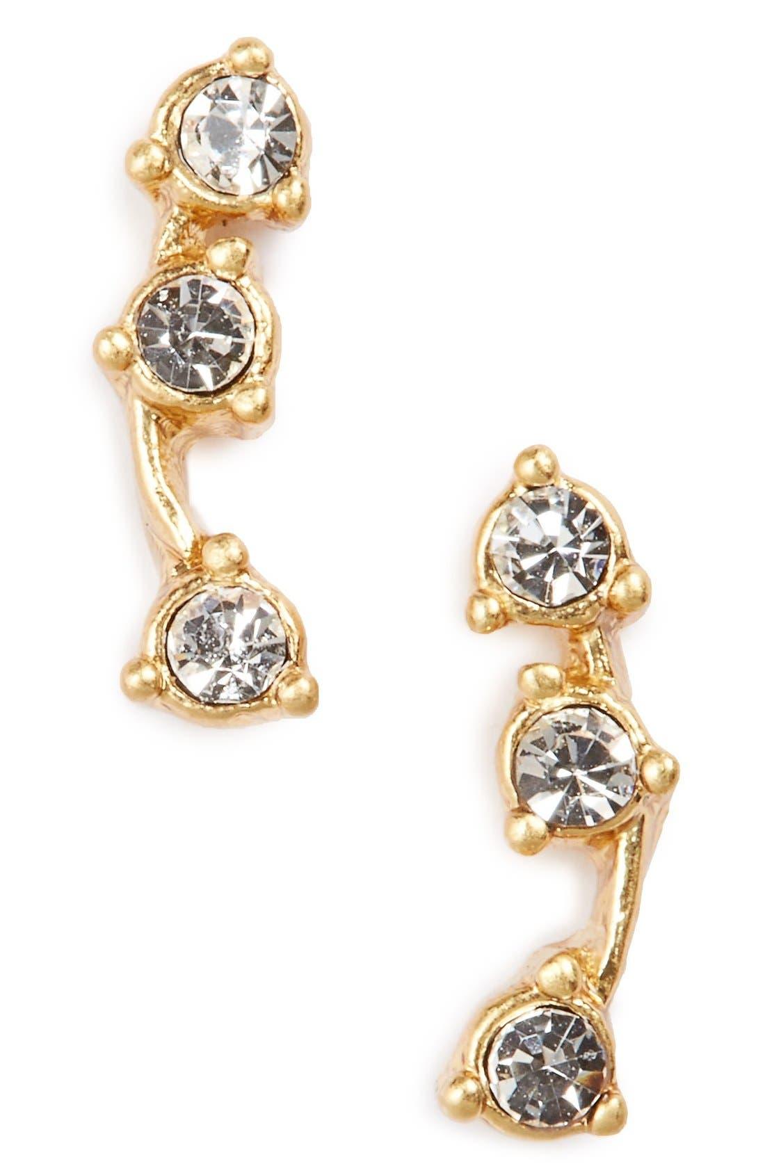 Gemline Stud Earrings,                         Main,                         color, 001