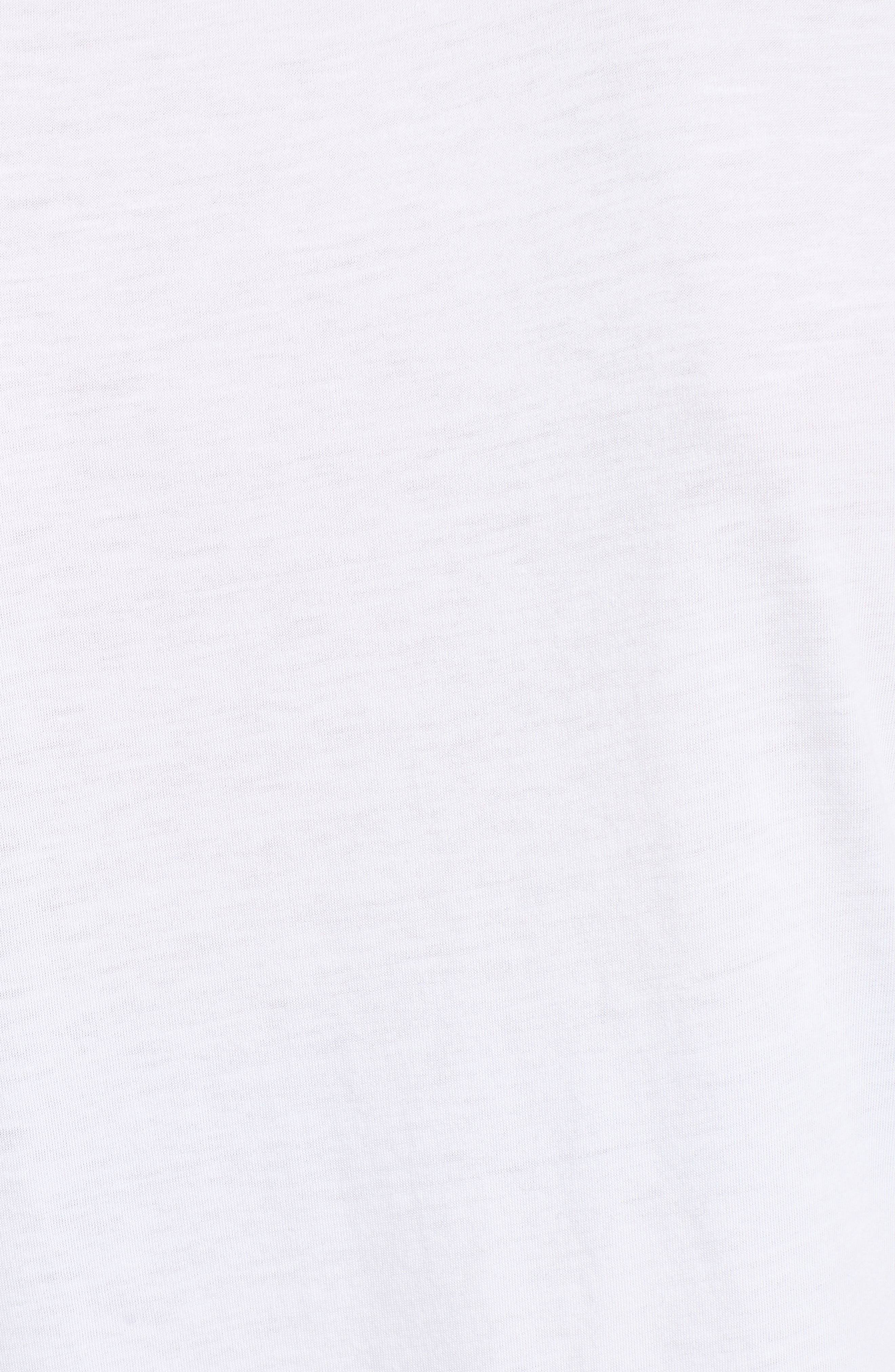 Short Sleeve Graphic Tee,                             Alternate thumbnail 5, color,                             WHITE- GOLD CHEERS