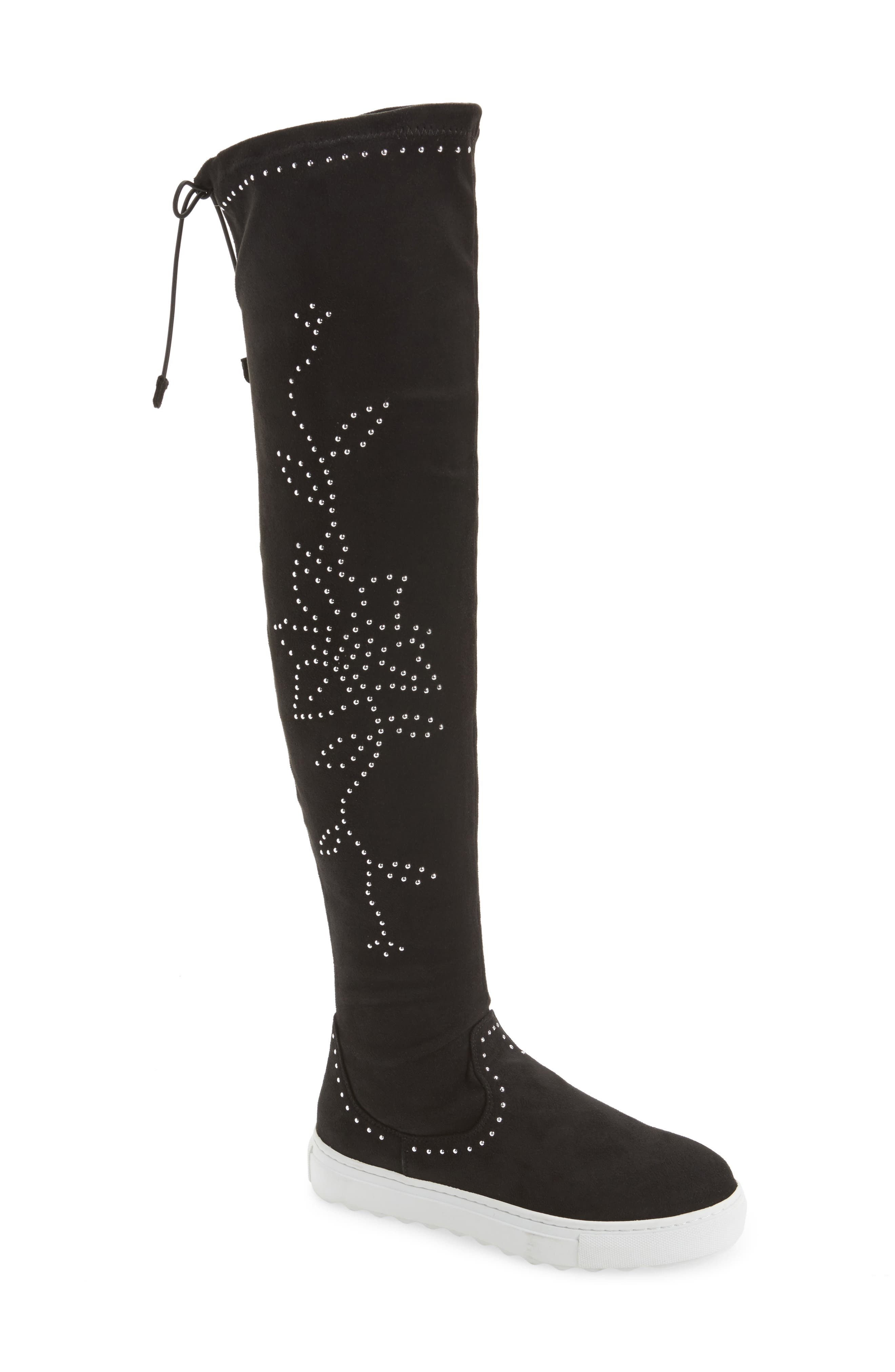 Plentee Over the Knee Boot,                             Main thumbnail 1, color,                             001