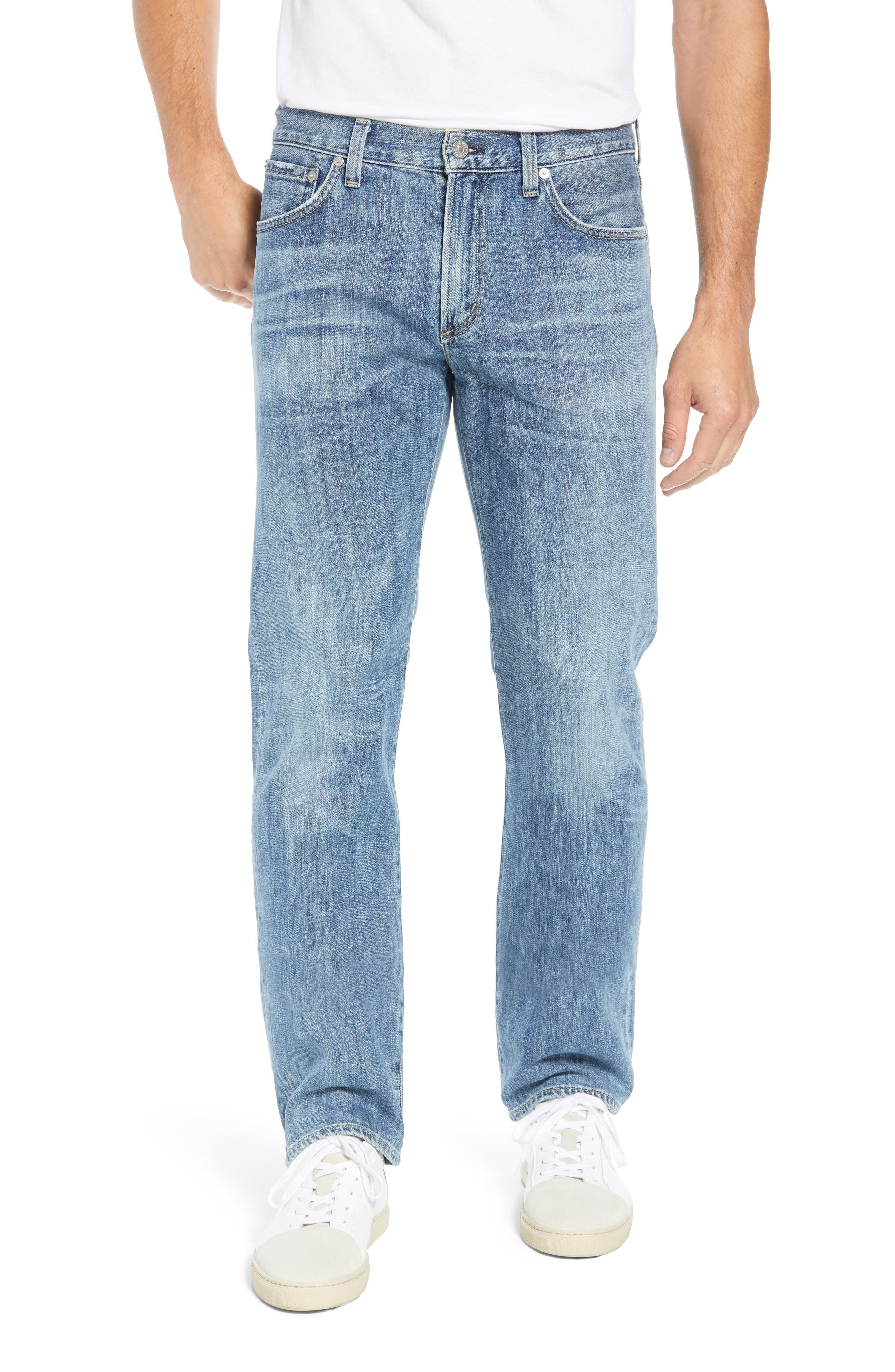 Sid Straight Leg Jeans,                         Main,                         color, 464