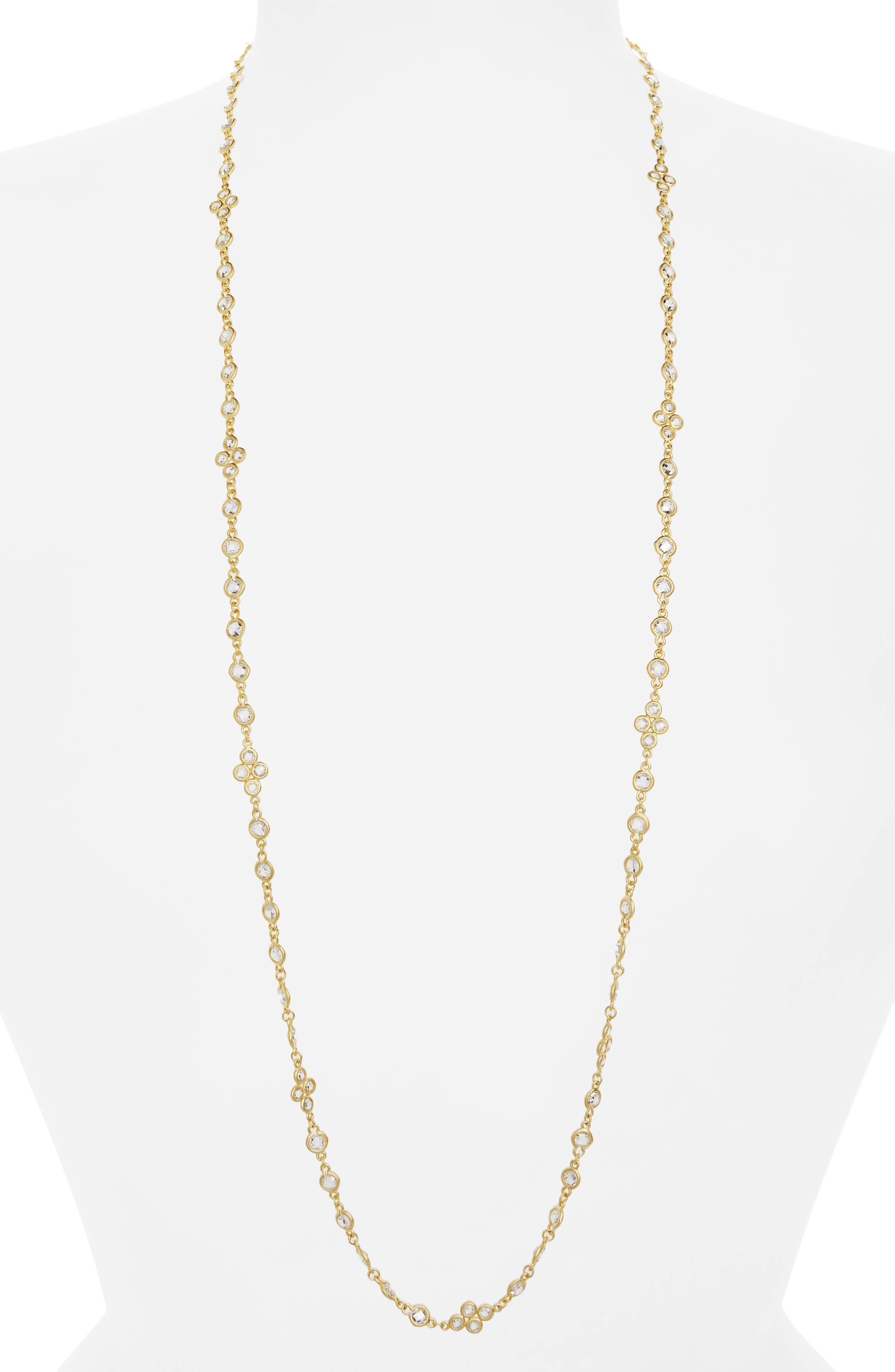 Cubic Zirconia Necklace,                         Main,                         color, 710