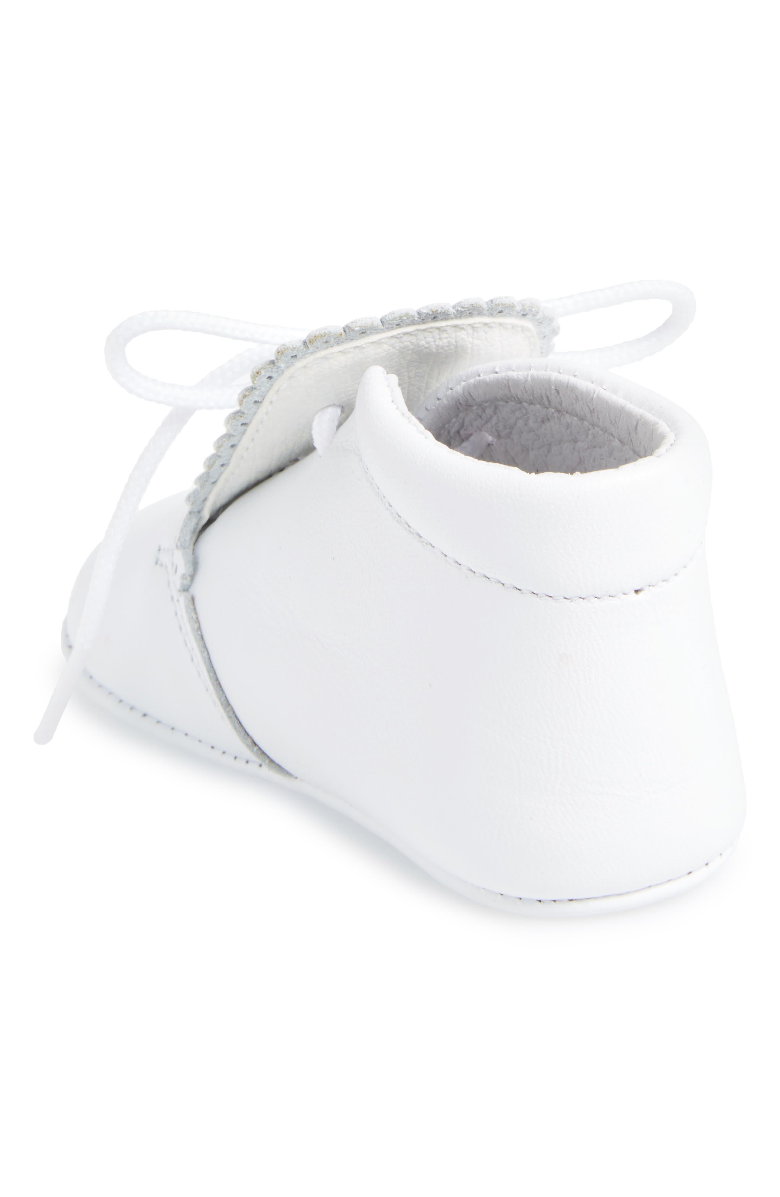 Crib Shoe,                             Alternate thumbnail 2, color,                             WHITE