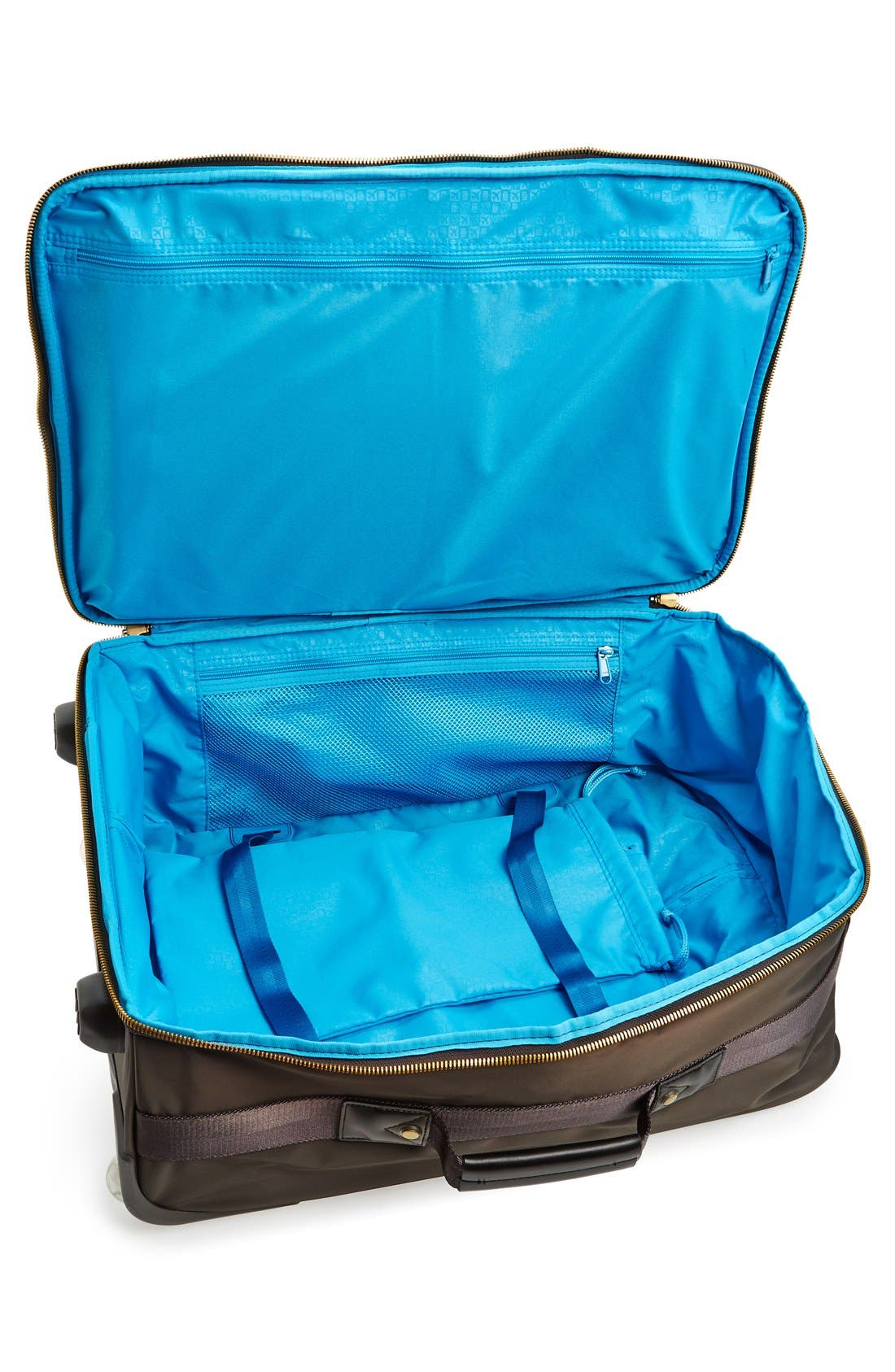 Avionette 22-Inch Rolling Carry-On Suitcase,                             Alternate thumbnail 3, color,