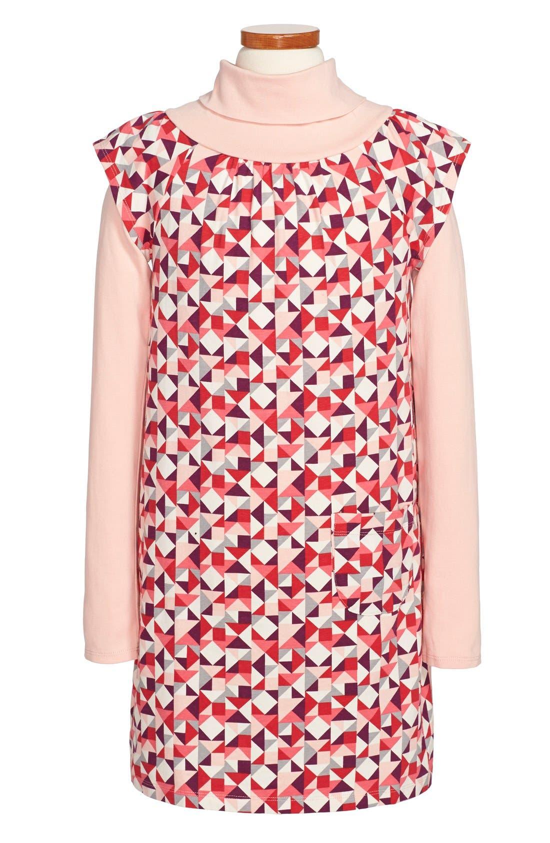 'Koln' Turtleneck Dress, Main, color, 635