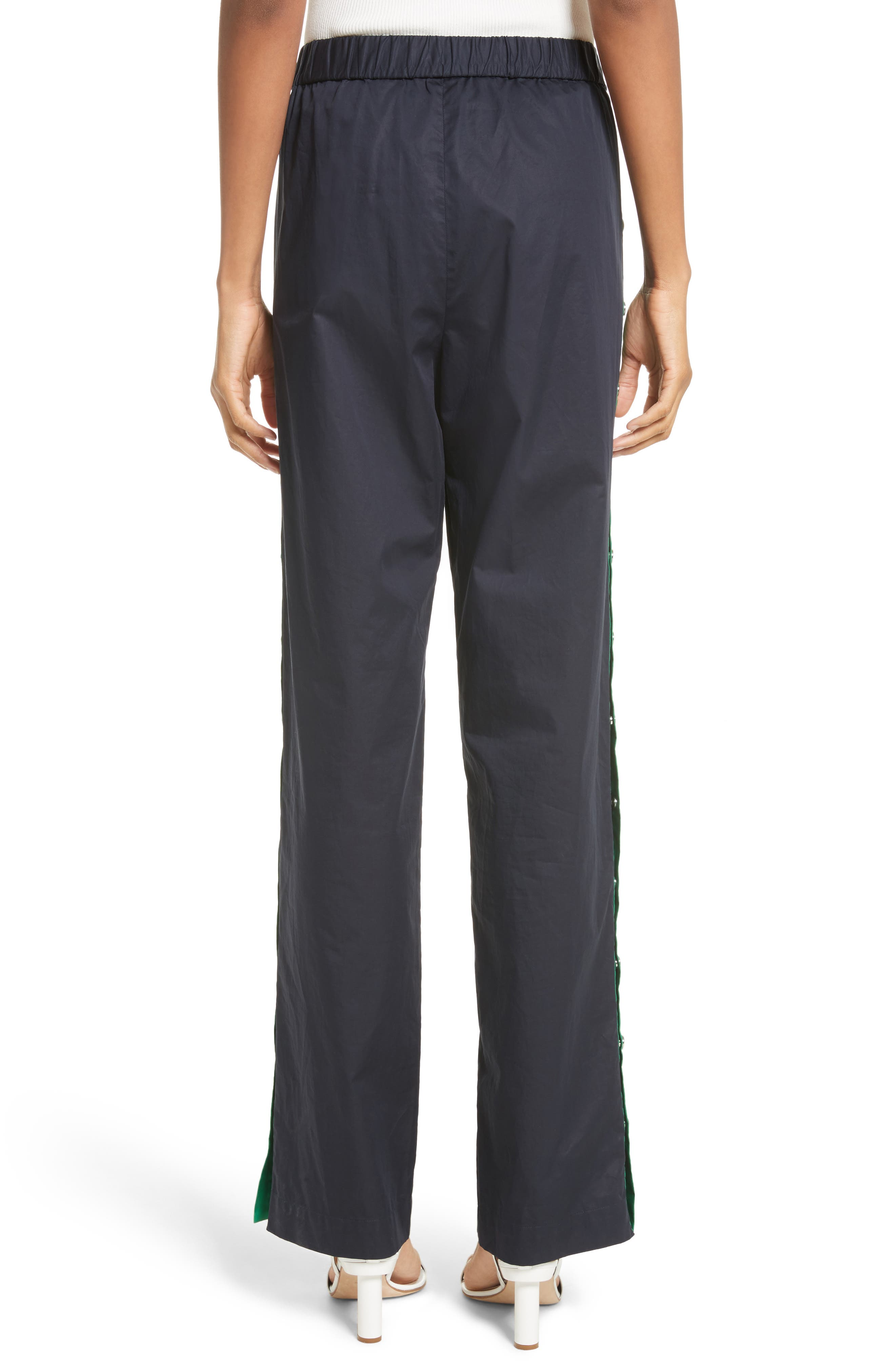 Snap Side Track Pants,                             Alternate thumbnail 4, color,