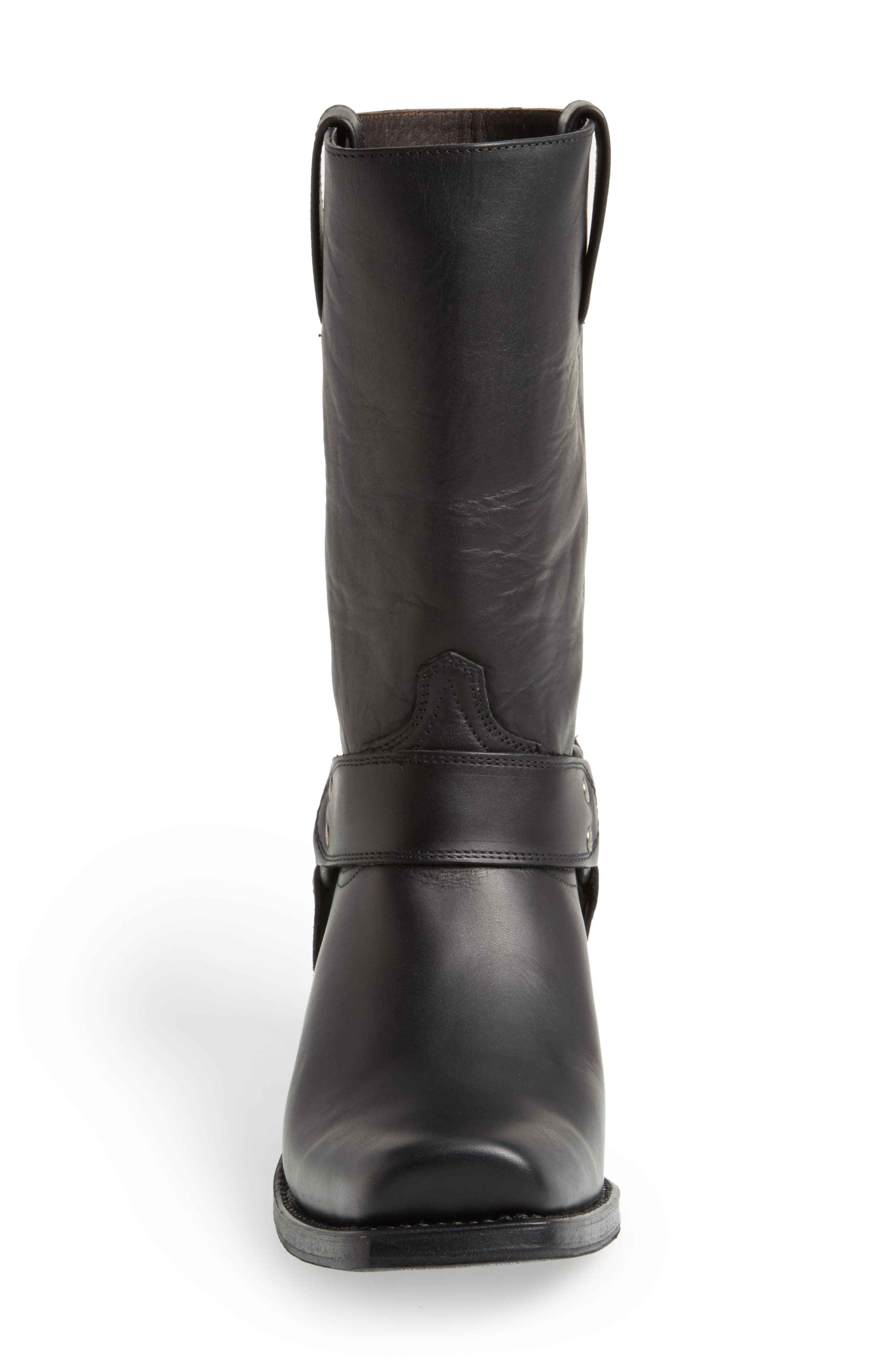 Boots Tall Harness Boot,                             Alternate thumbnail 3, color,                             BLACK