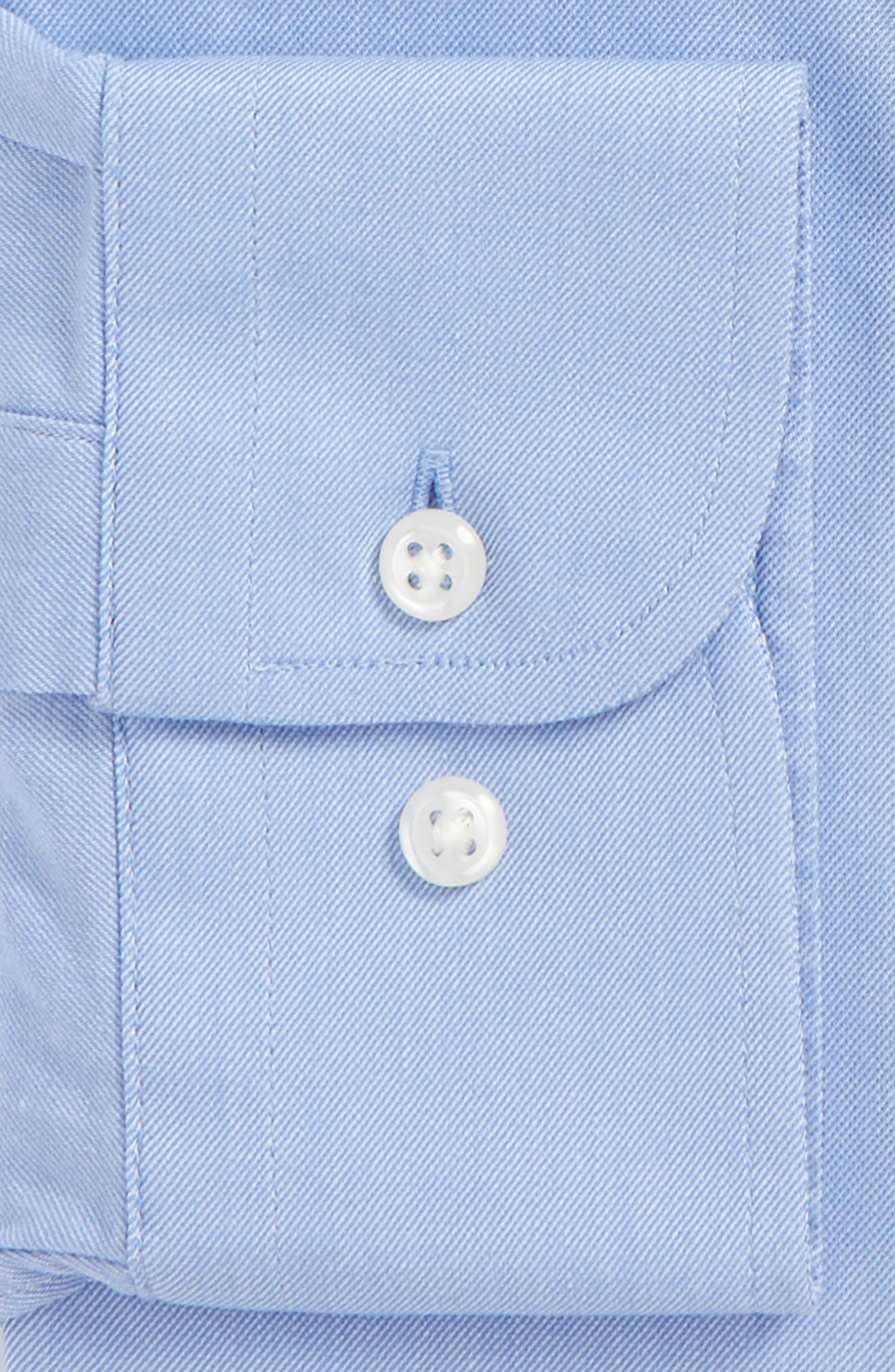 Tech-Smart Traditional Fit Stretch Solid Dress Shirt,                             Alternate thumbnail 8, color,