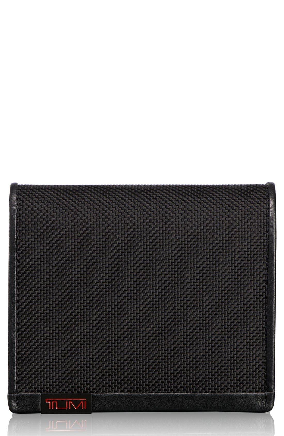 Alpha Slimfold ID Wallet,                             Main thumbnail 1, color,                             001