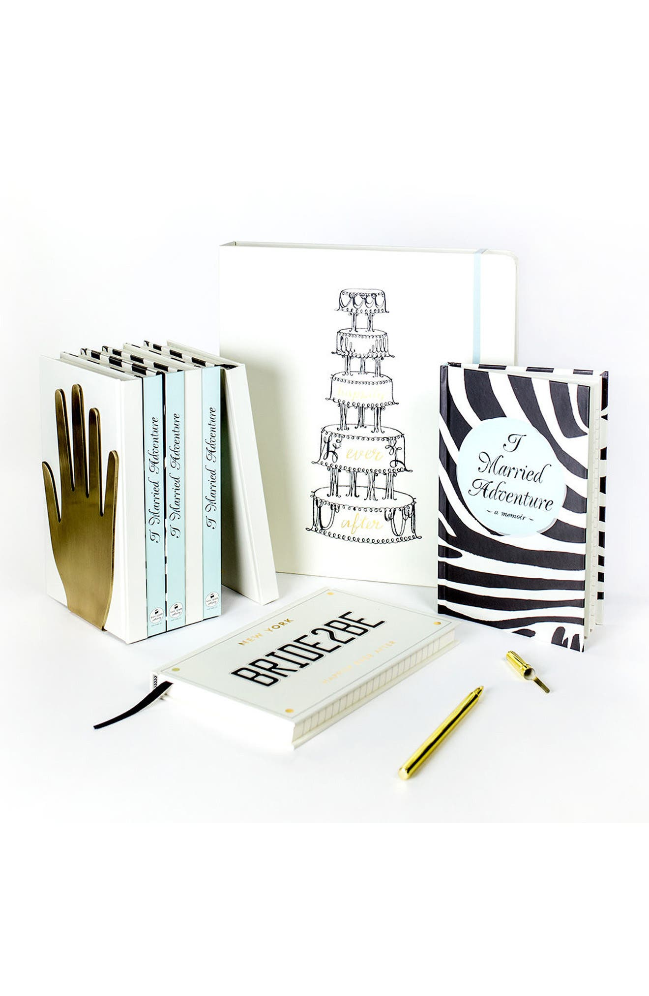 happily ever after bridal planner,                             Alternate thumbnail 3, color,                             100