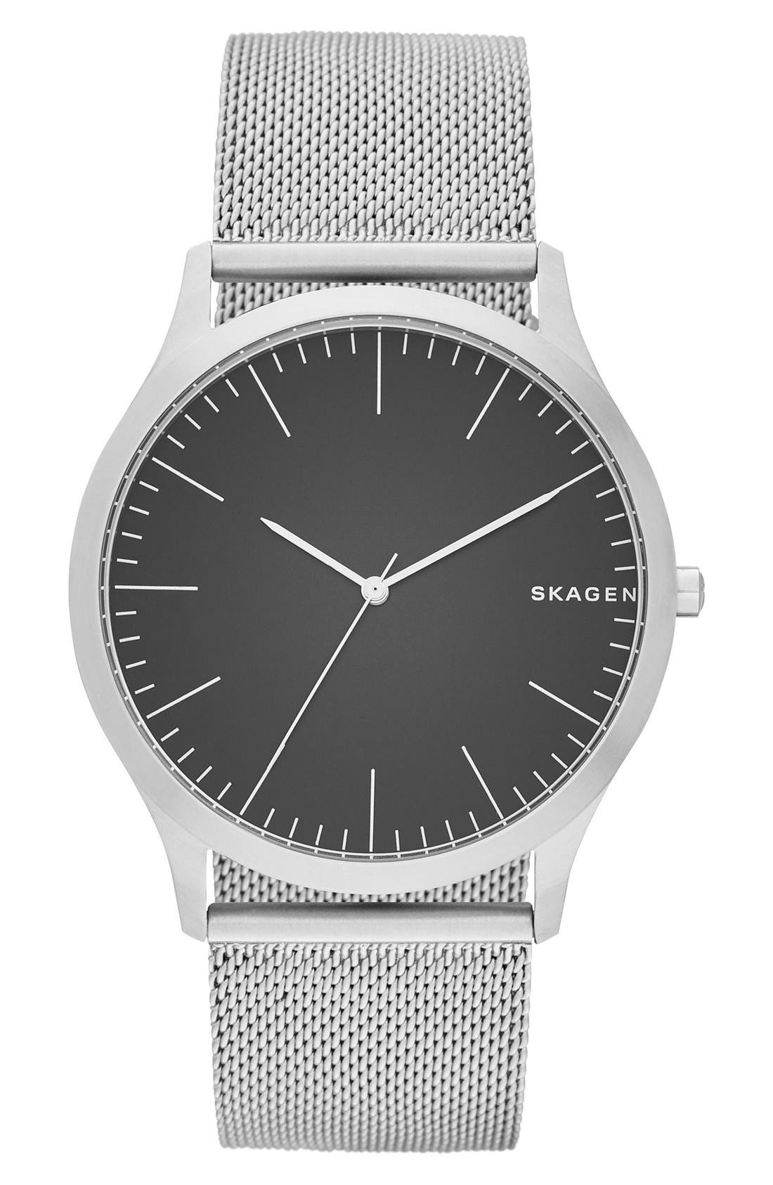 Jorn Mesh Strap Watch, 41mm,                         Main,                         color,