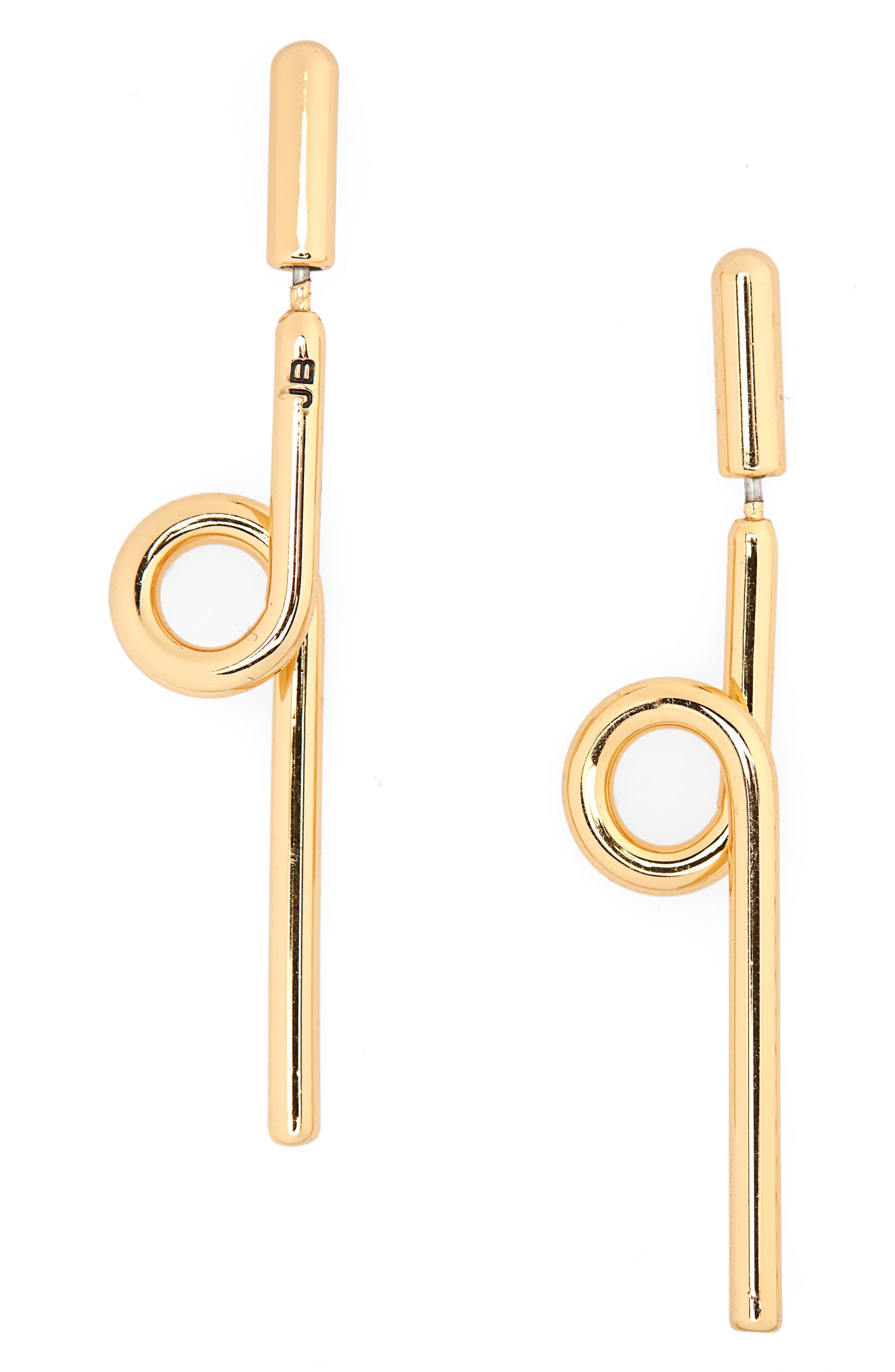 Otis Stick Earrings,                             Main thumbnail 1, color,                             GOLD