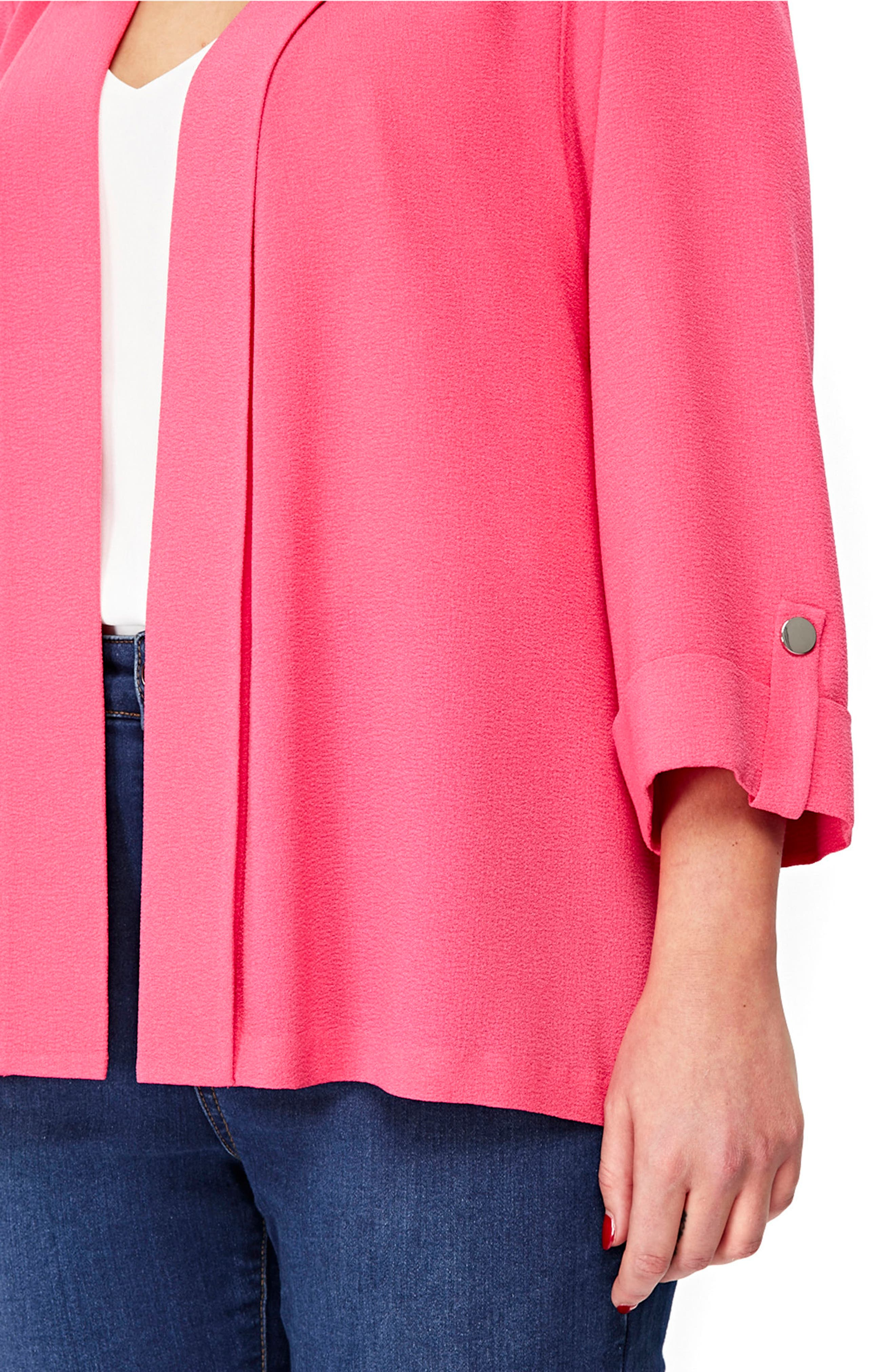 Three-Quarter Sleeve Jacket,                         Main,                         color, 658