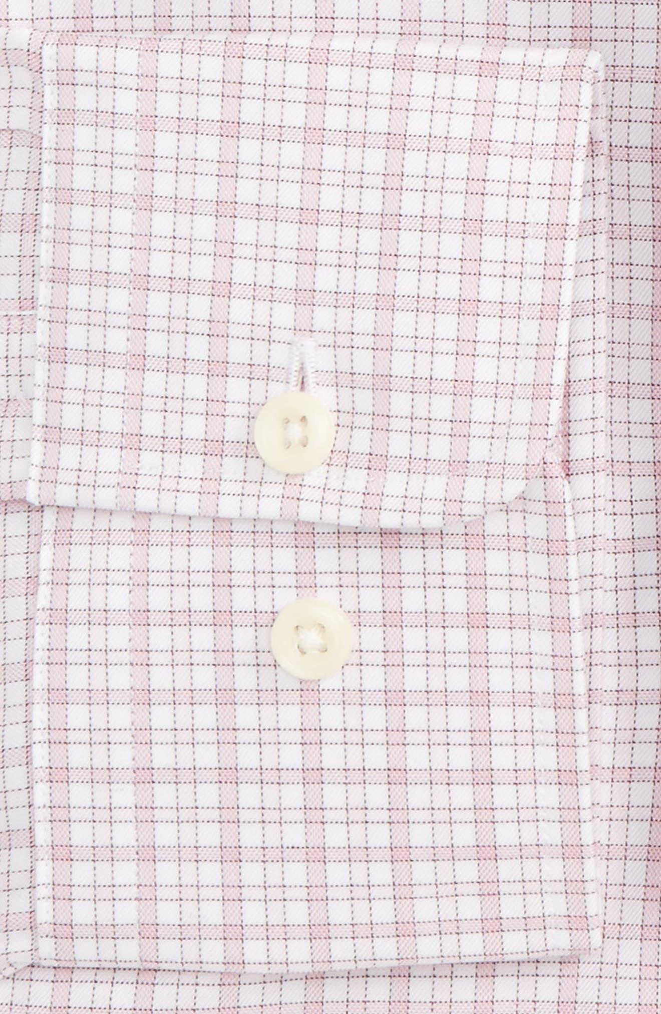 Regular Fit Check Dress Shirt,                             Alternate thumbnail 2, color,                             650