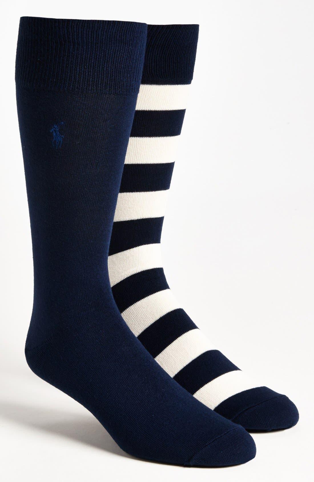 Cotton Blend Socks,                             Main thumbnail 10, color,