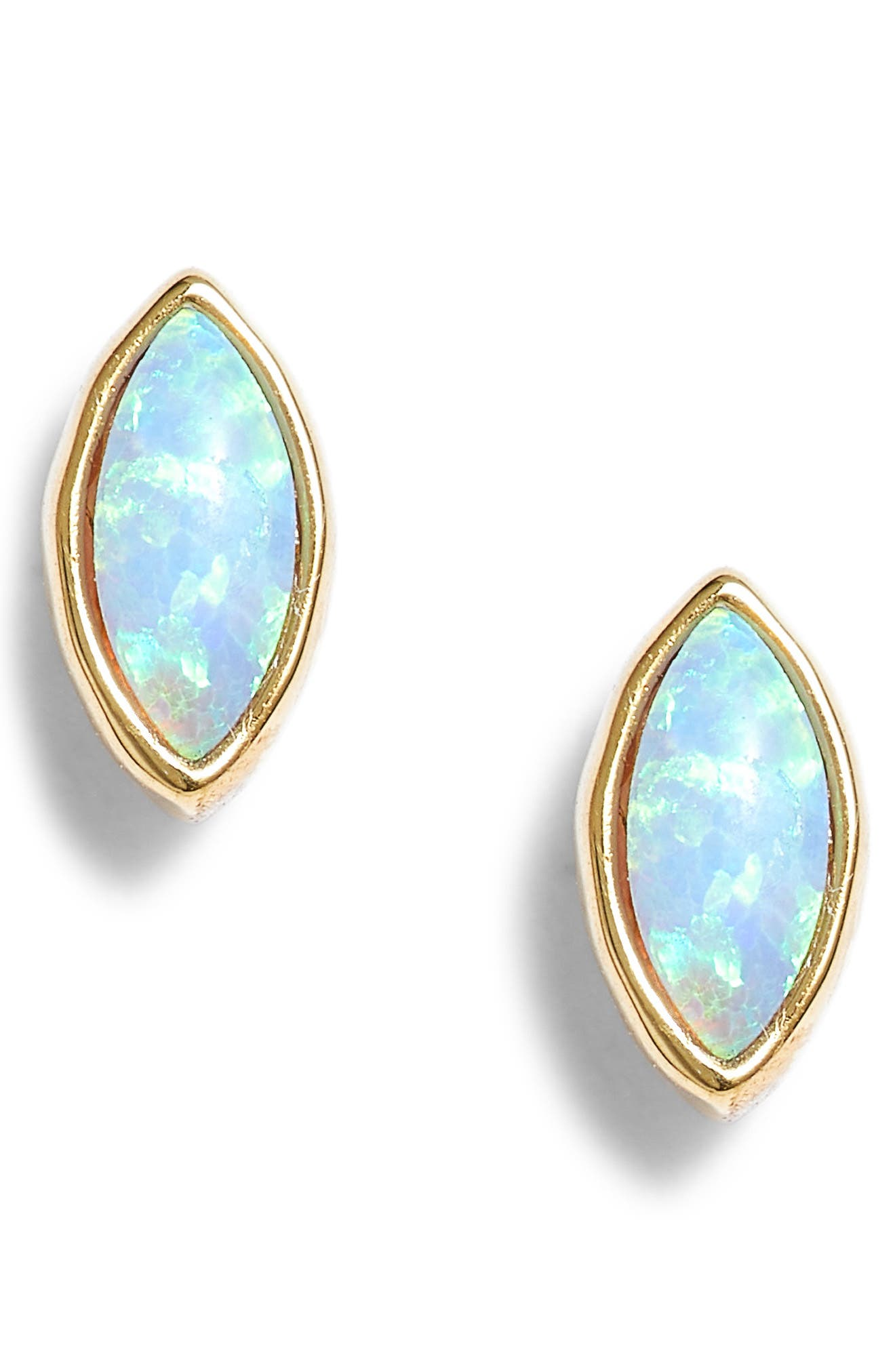 Rumi Opalite Stud Earrings,                             Main thumbnail 2, color,