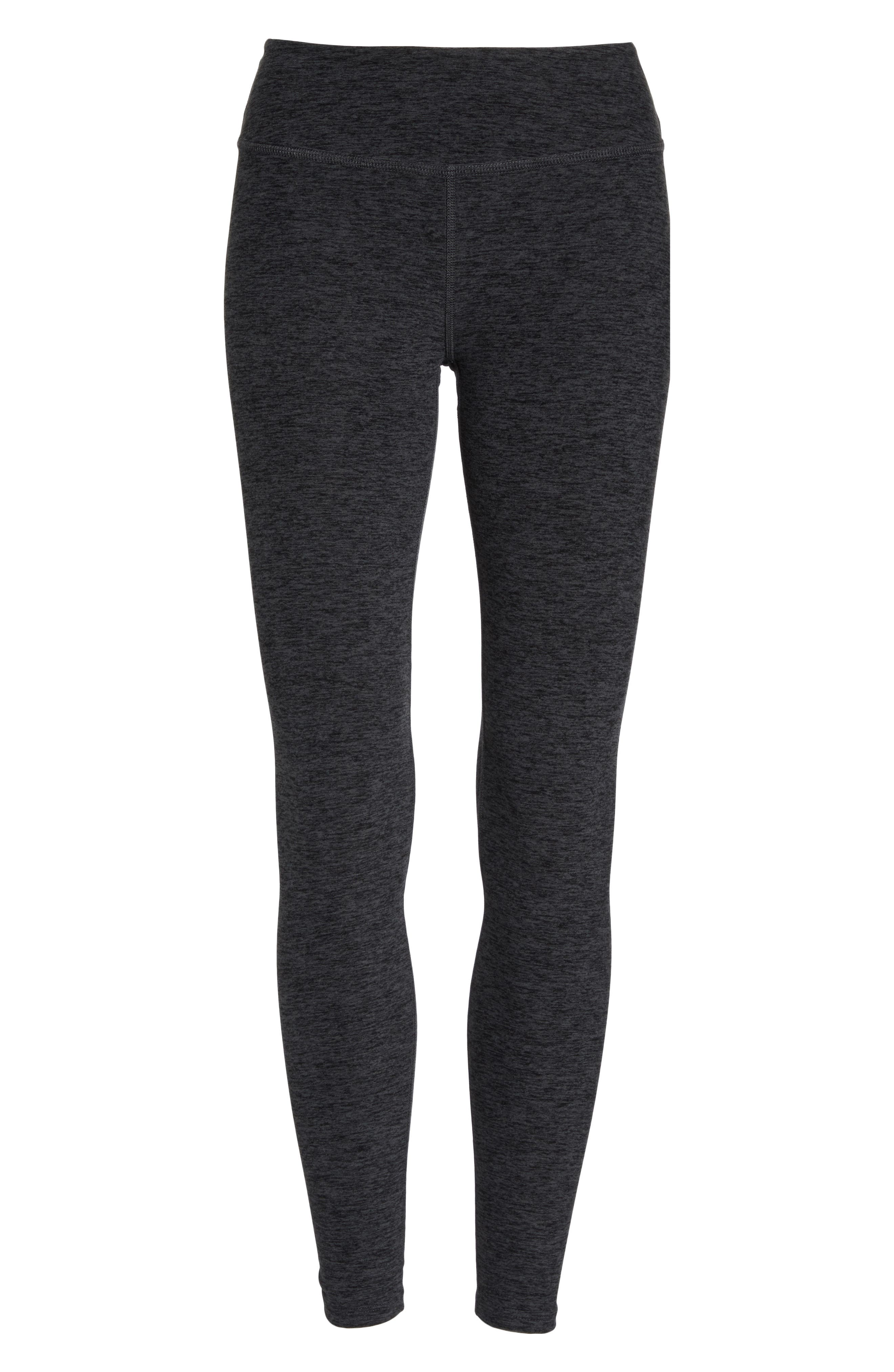 Crisscross Crop Leggings,                             Alternate thumbnail 7, color,                             001