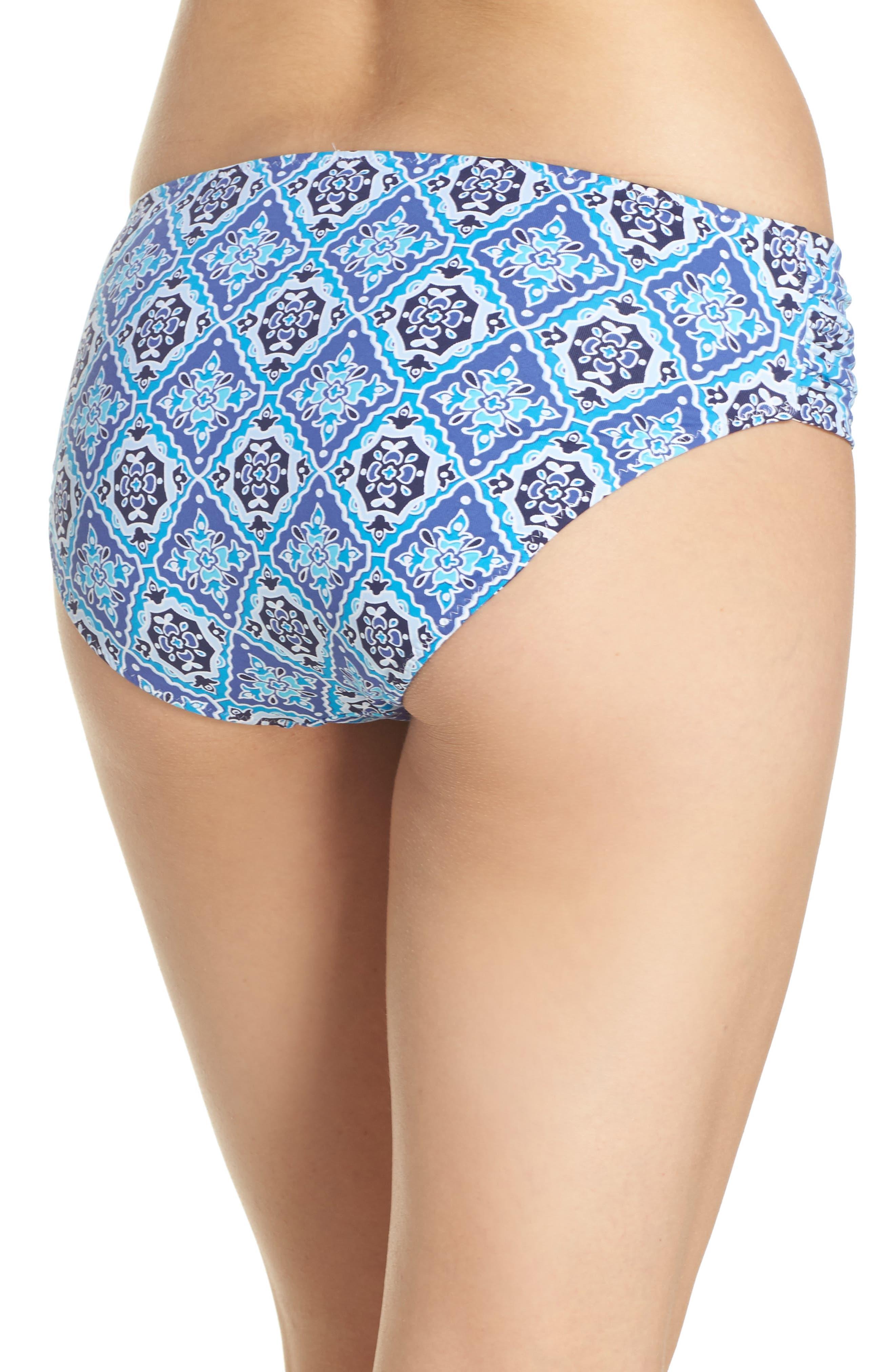 Tika Tiles Reversible Bikini Bottoms,                             Alternate thumbnail 2, color,                             400