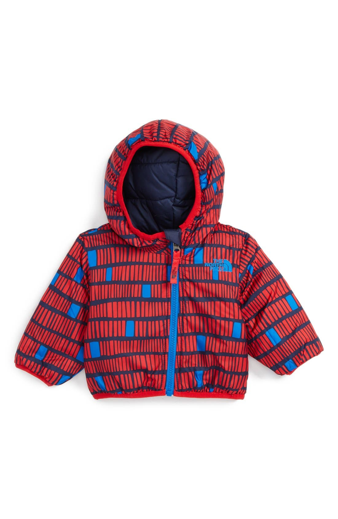 'Perrito' Reversible Water Repellent Hooded Jacket,                             Alternate thumbnail 8, color,