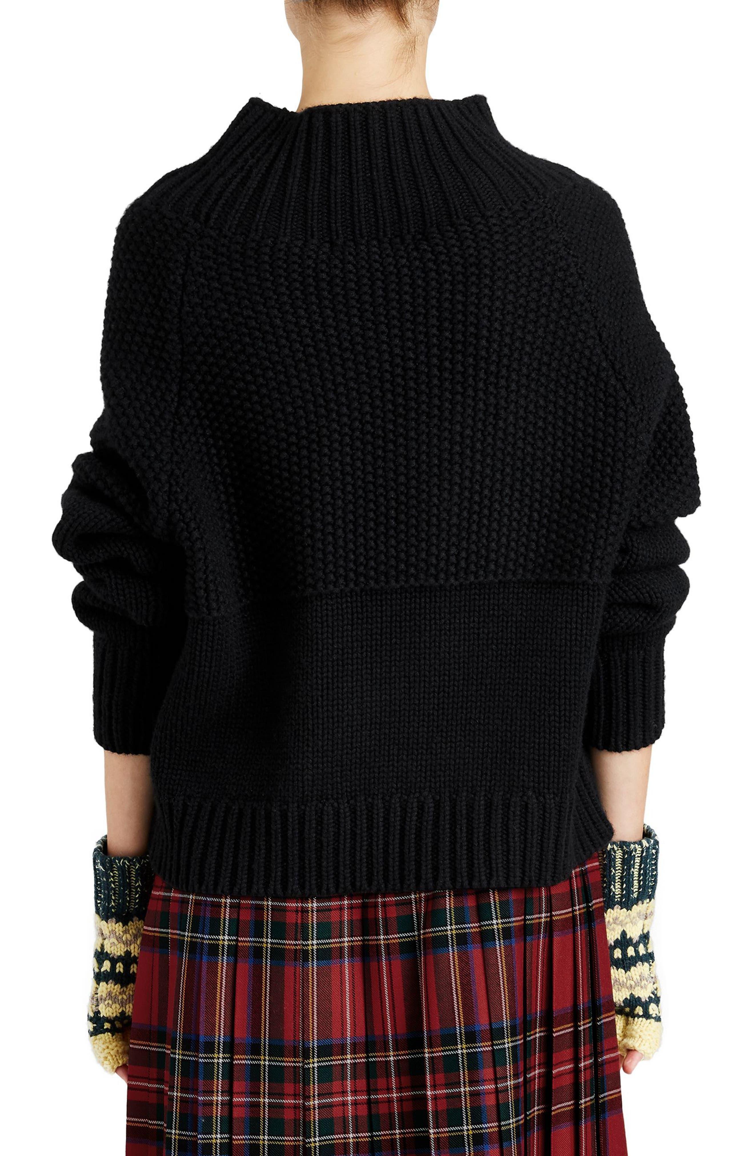 Dawson Cashmere Sweater,                             Alternate thumbnail 2, color,                             001