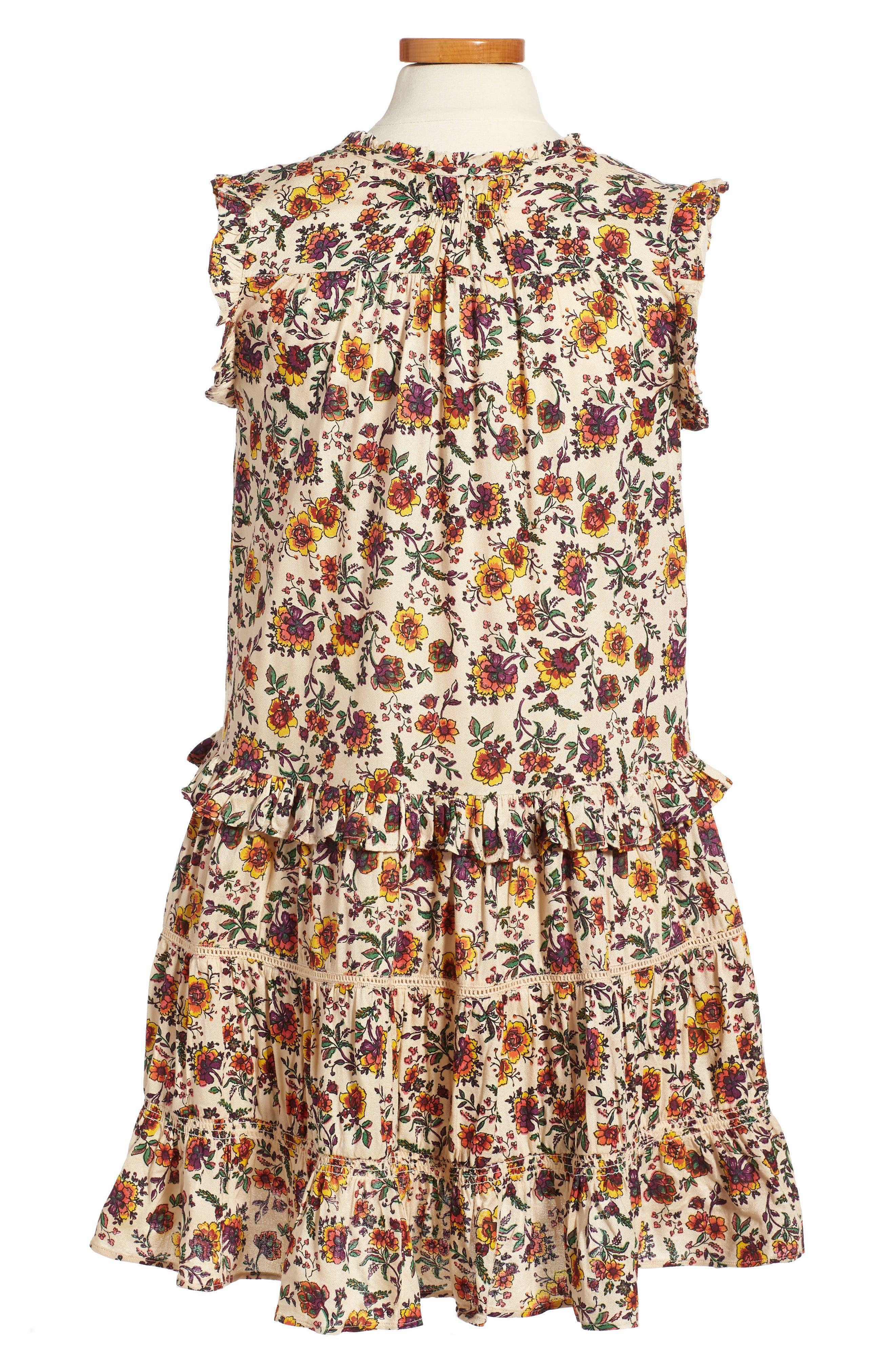 Natalie Print Dress,                             Alternate thumbnail 2, color,                             905