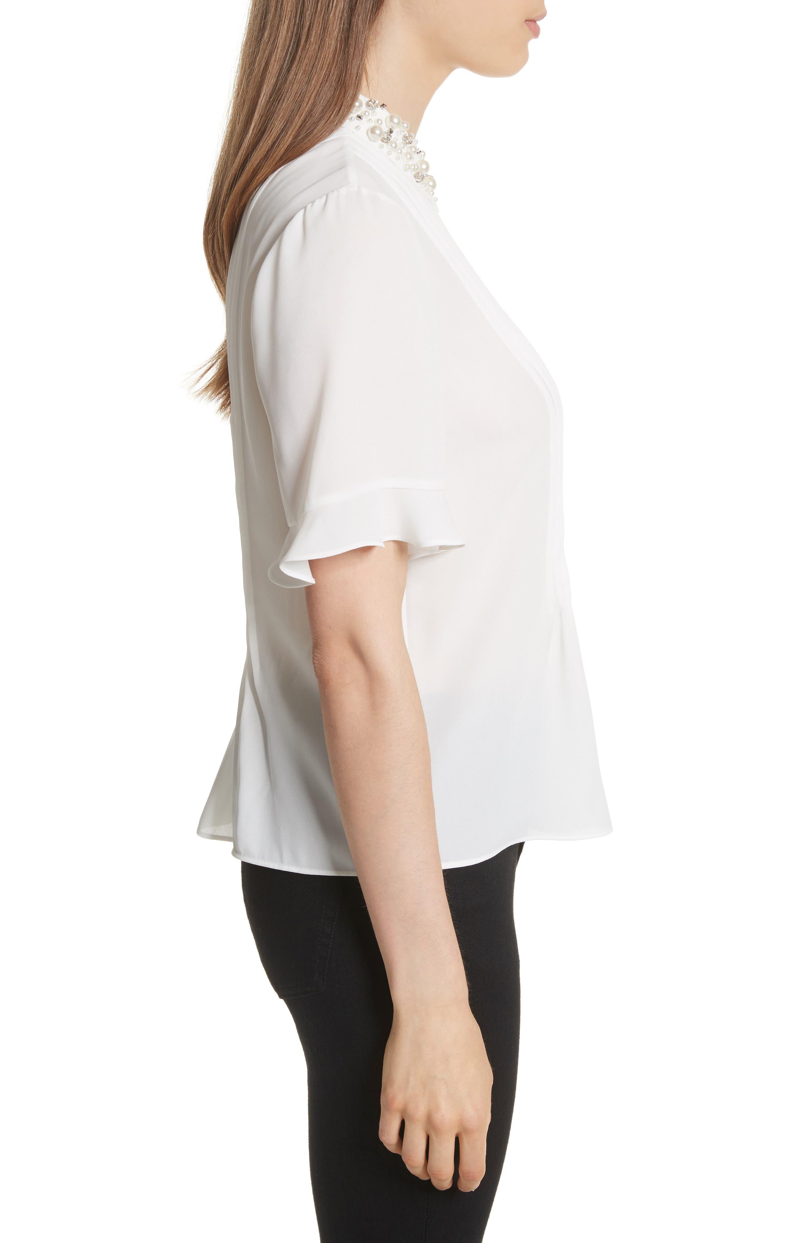 embellished collar shirt,                             Alternate thumbnail 3, color,                             292