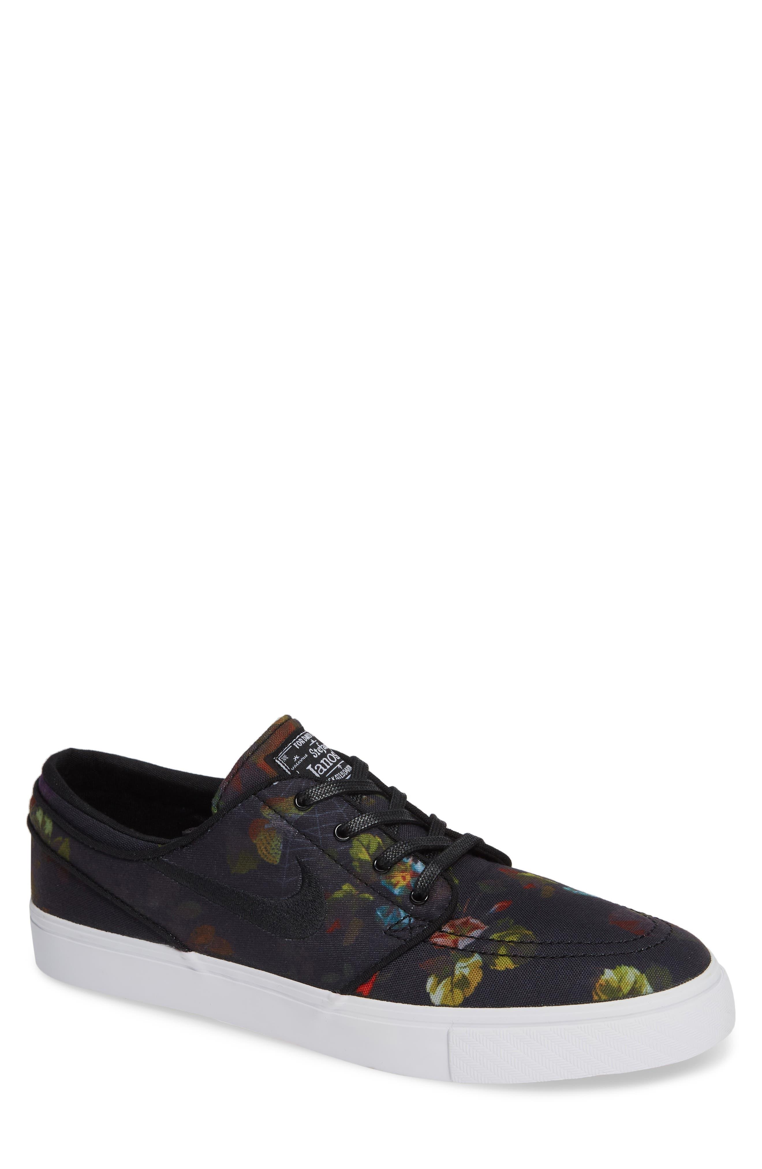Zoom - Stefan Janoski SB Canvas Skate Shoe,                             Main thumbnail 1, color,