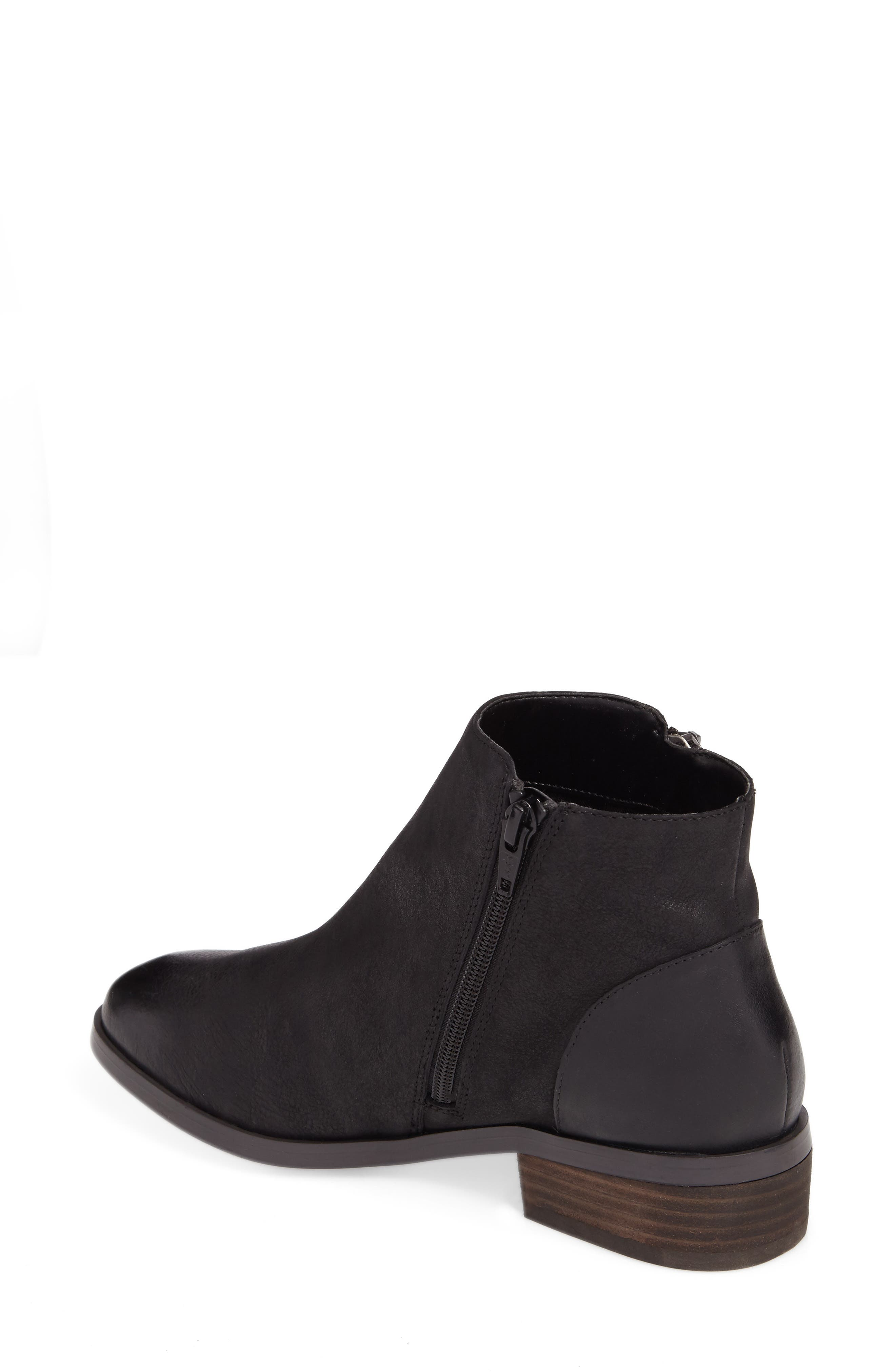 Abbott Bootie,                             Alternate thumbnail 2, color,                             BLACK LEATHER