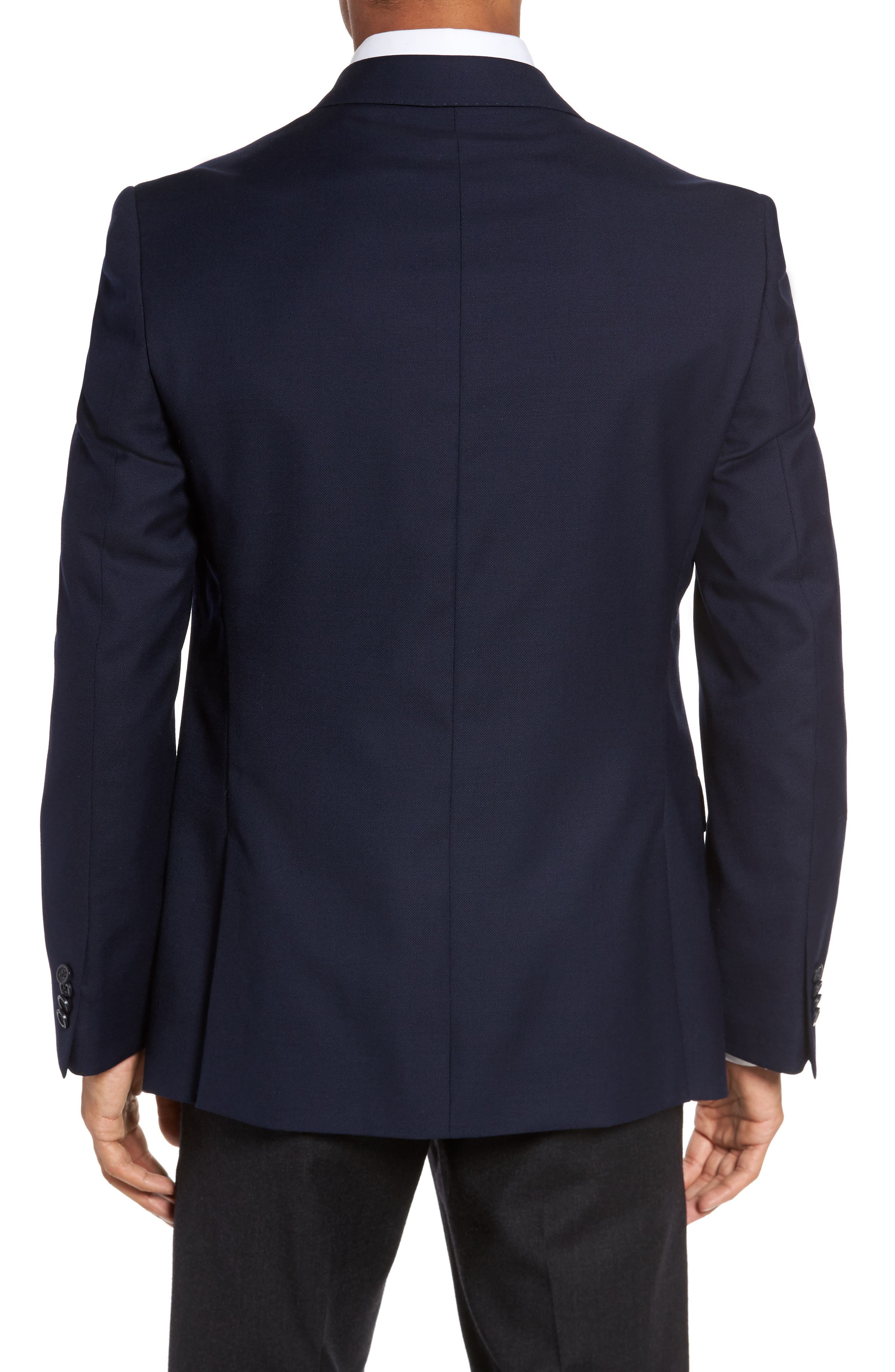 Classic Fit Solid Wool Sport Coat,                             Alternate thumbnail 2, color,                             410
