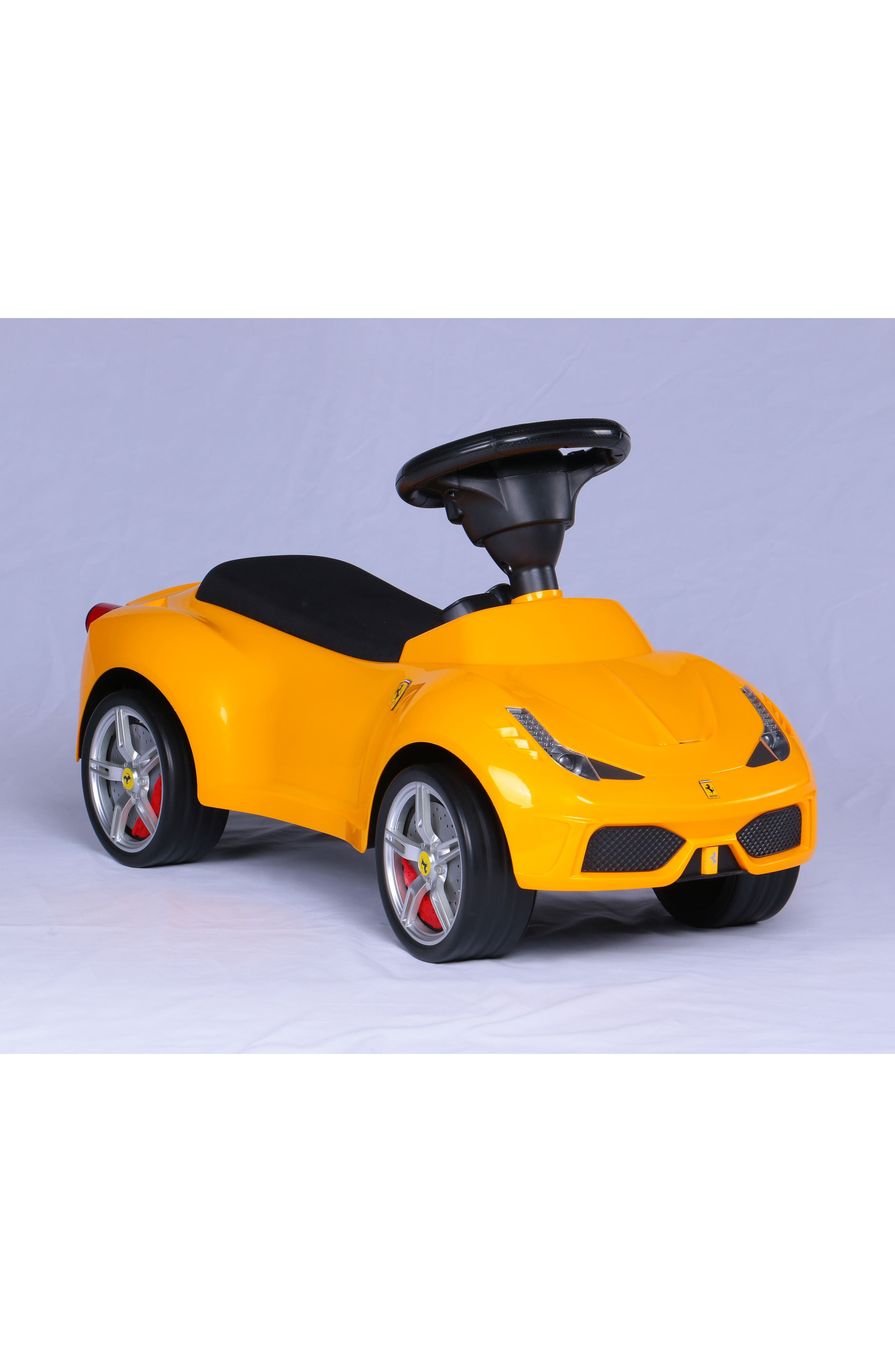 Ferrari Ride-On Push Car,                             Alternate thumbnail 4, color,                             700