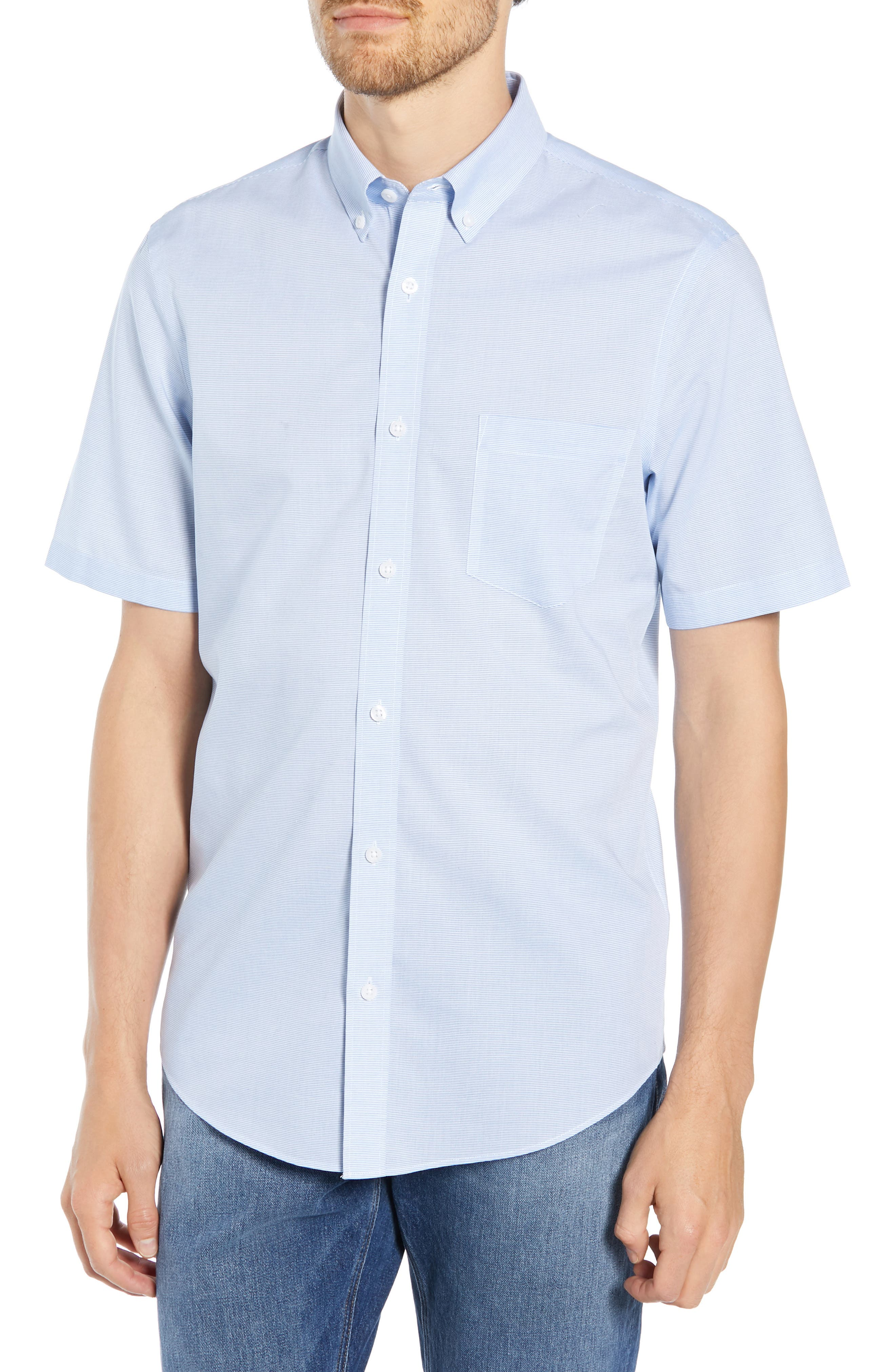 Nordstrom Shop Smartcare(TM) Regular Fit Sport Shirt