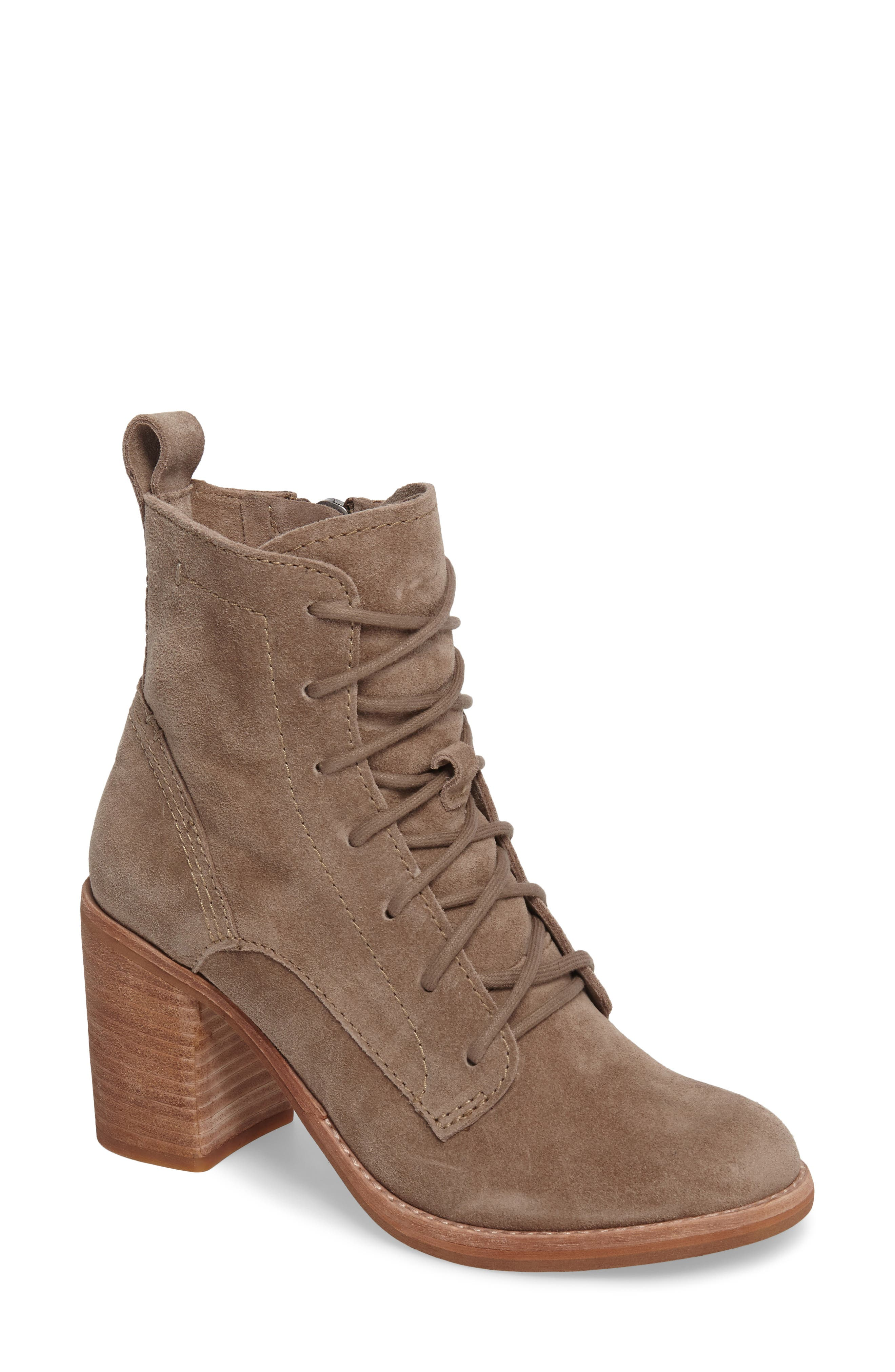 Rowly Lace-Up Bootie,                             Main thumbnail 2, color,