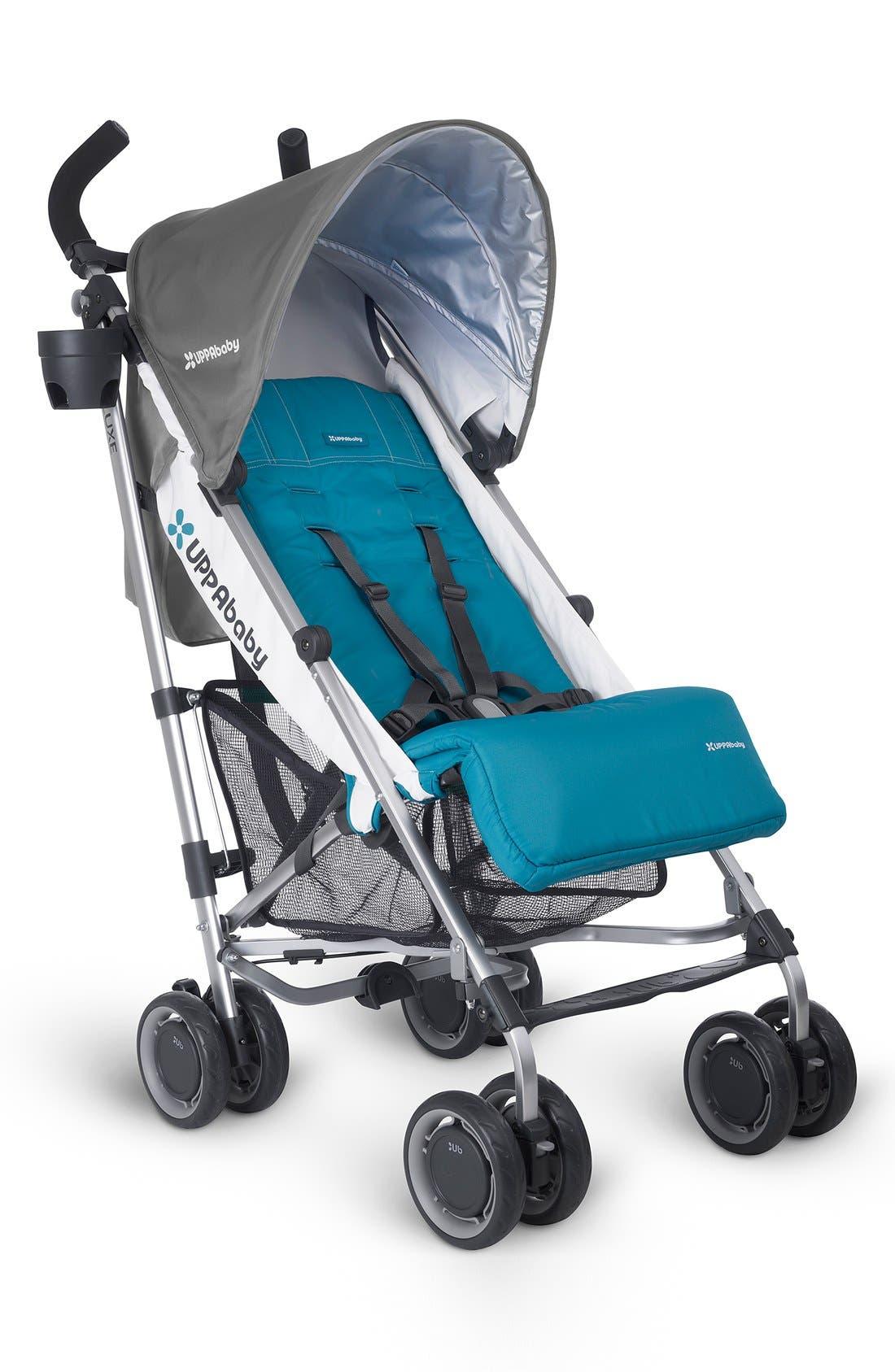 2015 G-LUXE - Aluminum Frame Reclining Umbrella Stroller,                             Main thumbnail 3, color,
