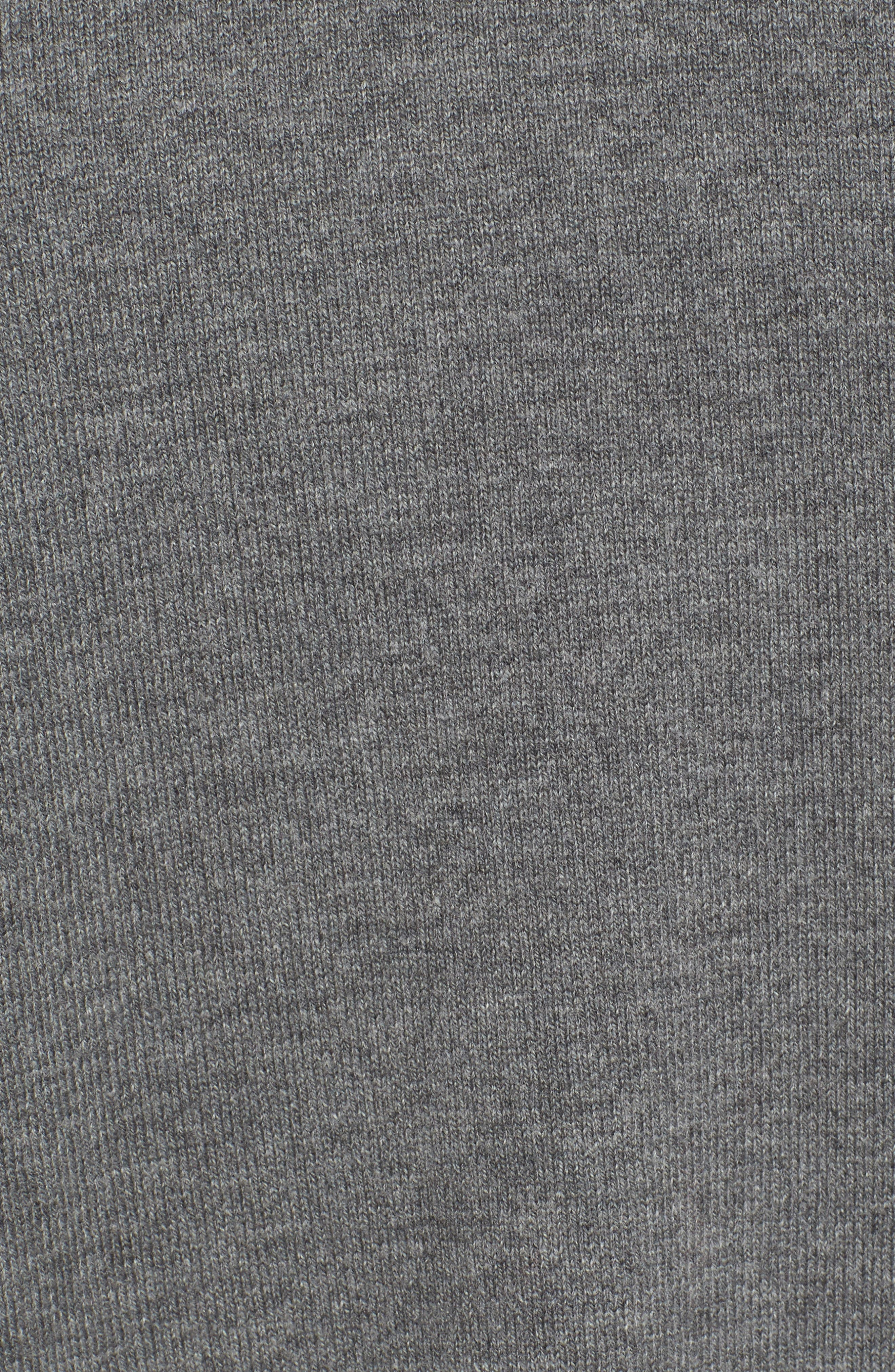 Asymmetrical Ruffle Sweater,                             Alternate thumbnail 5, color,                             030