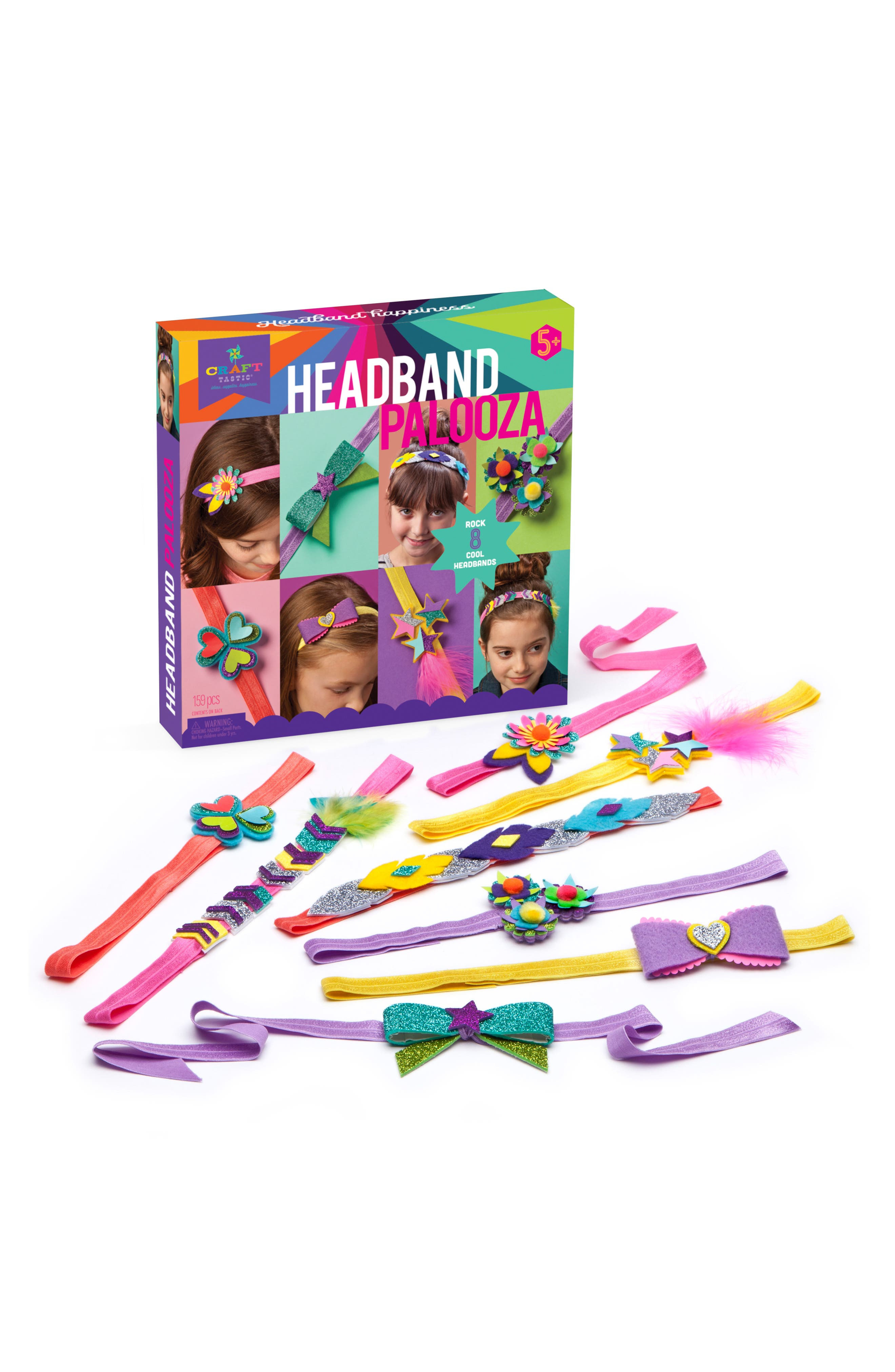 Headband Palooza Crafting Kit,                             Alternate thumbnail 3, color,                             500